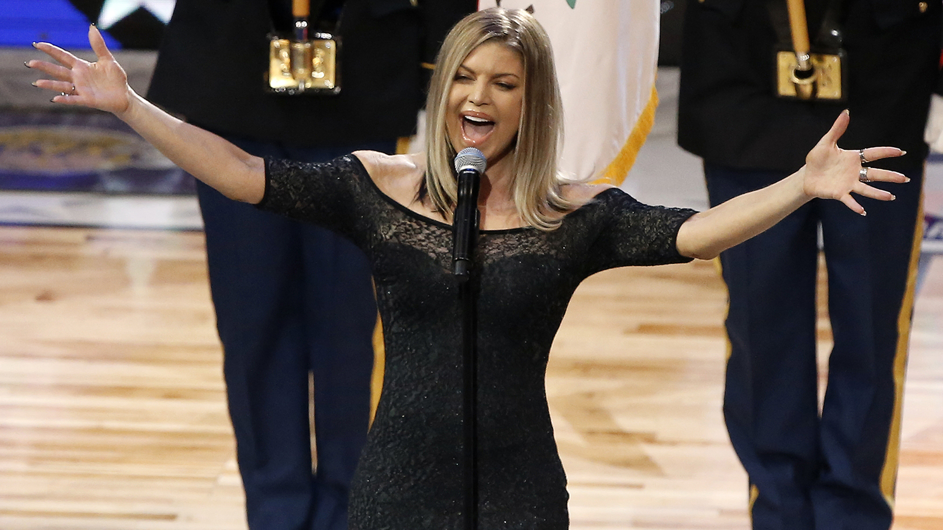 Fergie's national anthem at the NBA All-Star Game was ... Fergie National Anthem