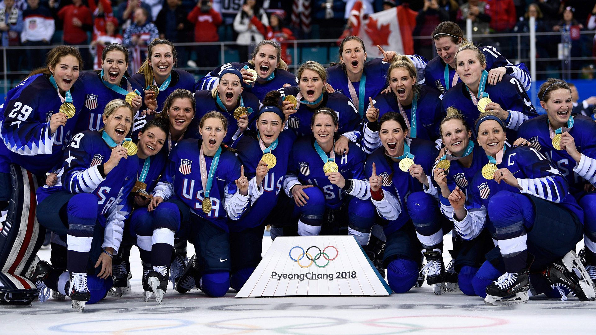 26ed4cb3a31 U.S. women s hockey team talks about their own  Miracle on Ice