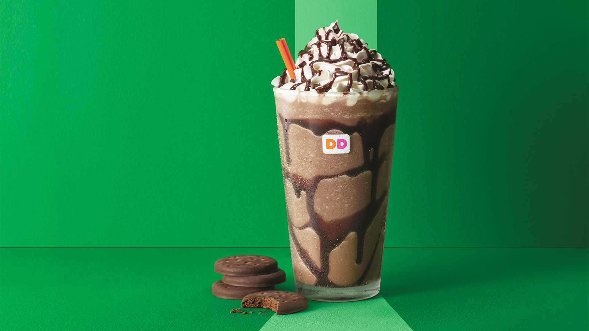 dunkin donuts launches girl scout cookie coffee   today
