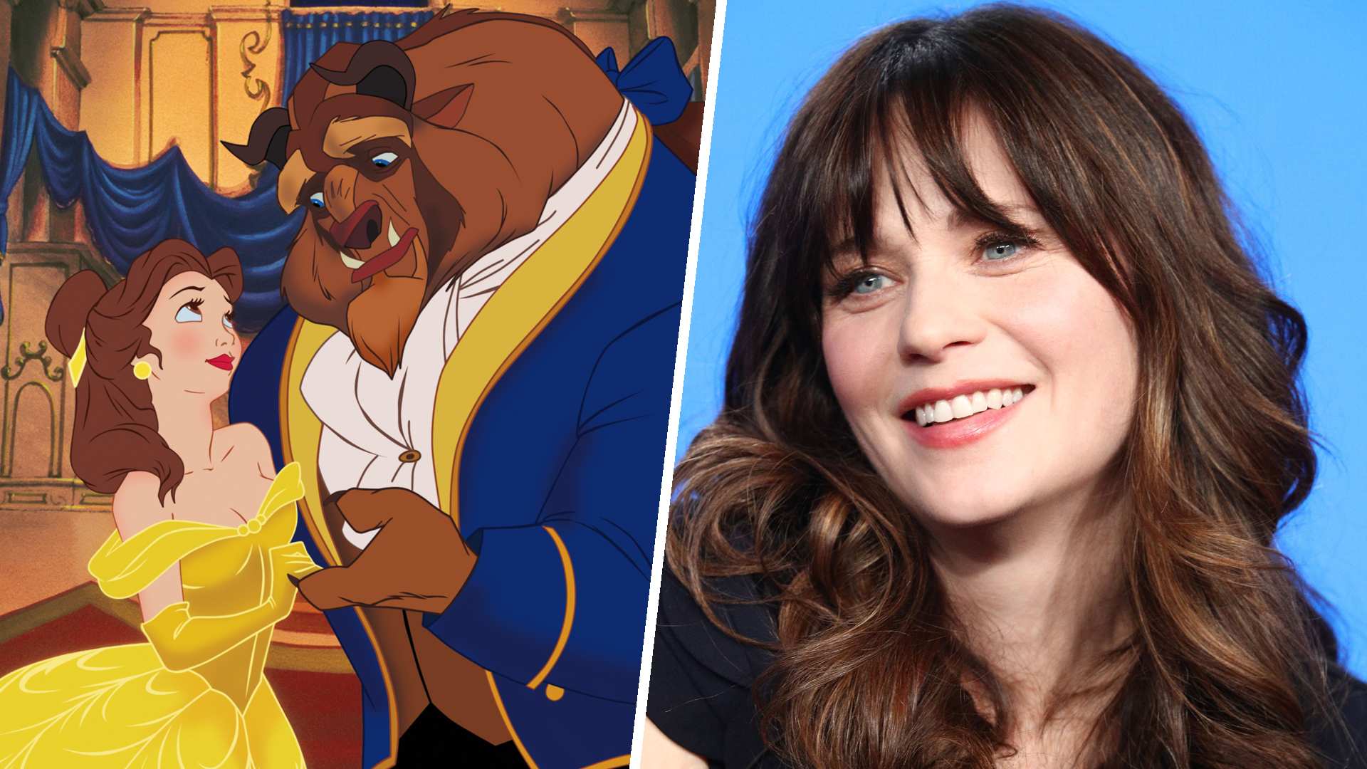 Zooey Deschanel headlines all-star cast for 'Beauty and the Beast' concert