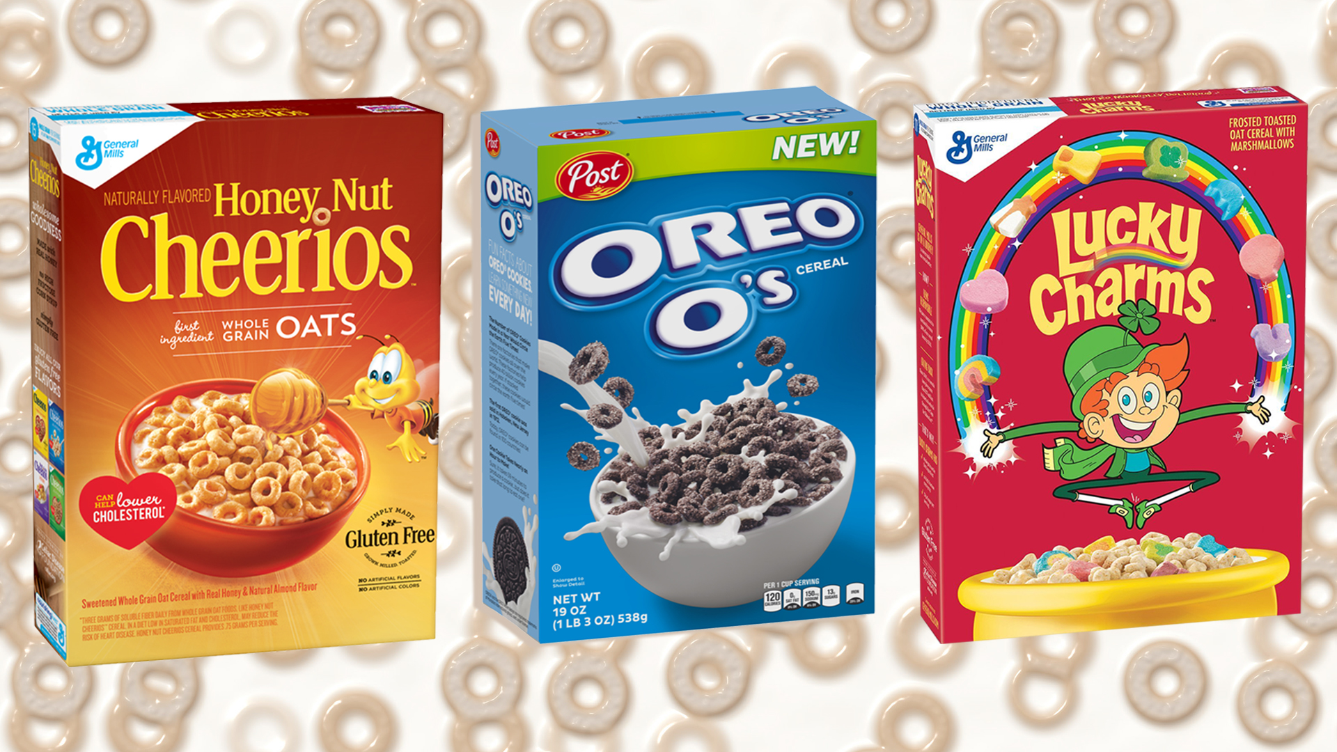 most popular cereal in america according to google