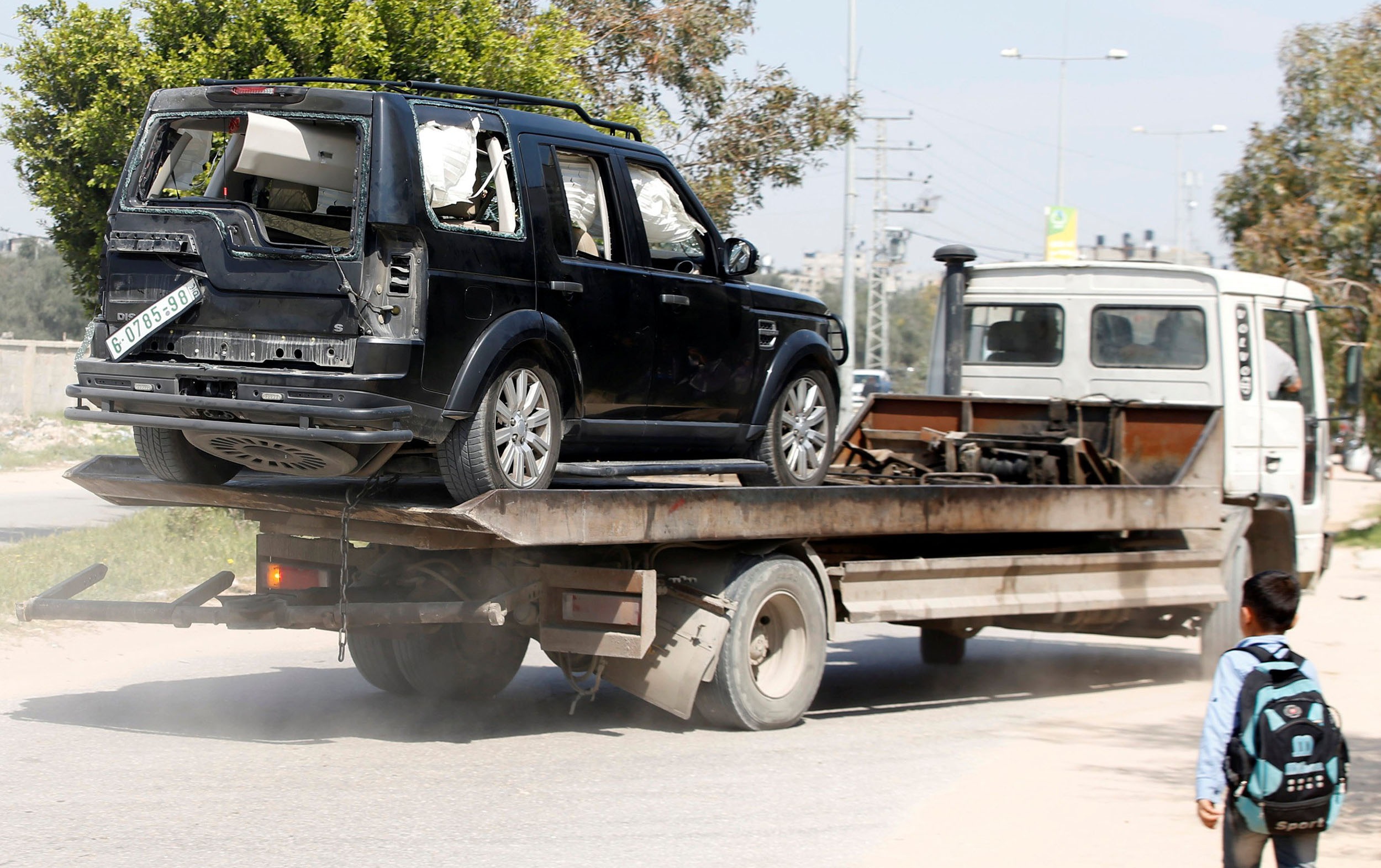 Gaza blast: Explosion strikes Palestinian PM Rami Hamdallah's convoy