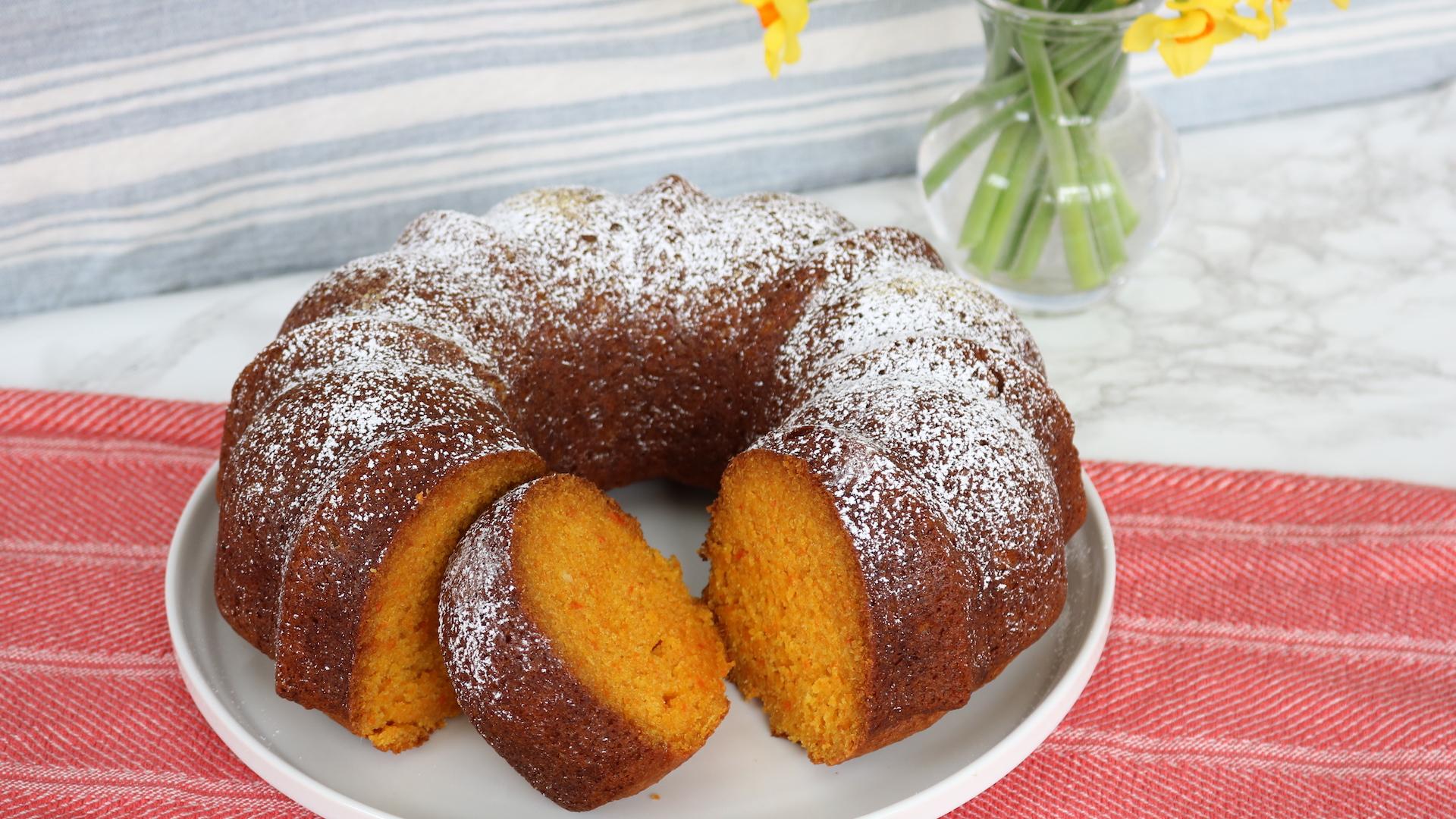 Carrot Ginger Bundt Cake Today Com