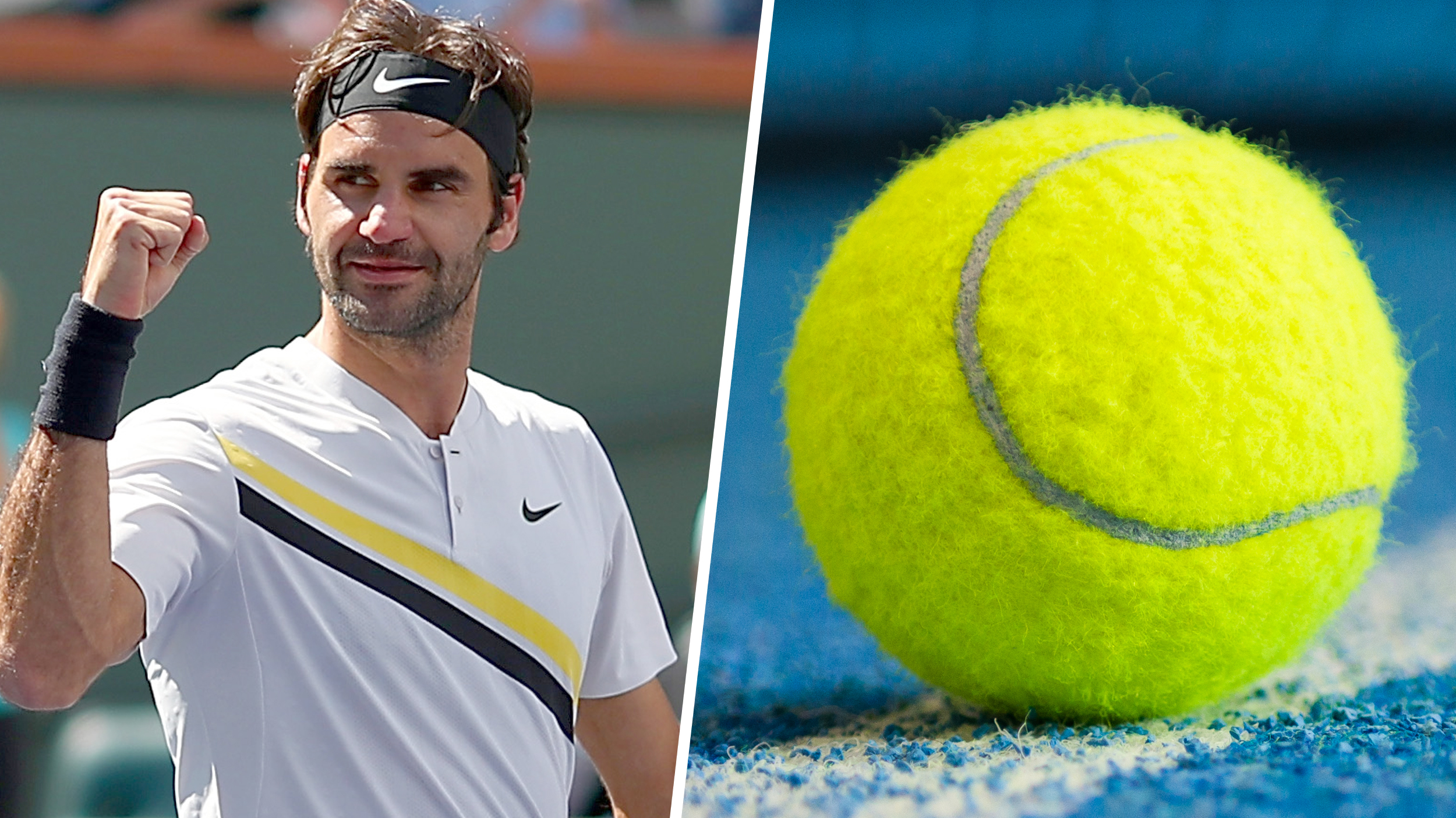 Are Tennis Balls Yellow Or Green Roger Federer Enters The Debate