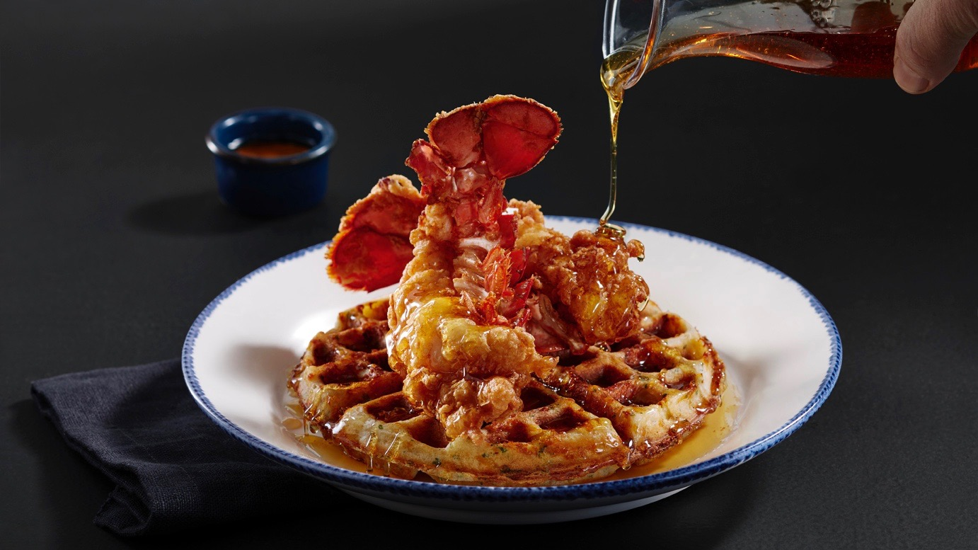 Red Lobster's lobster and waffles for Lobsterfest - TODAY.com