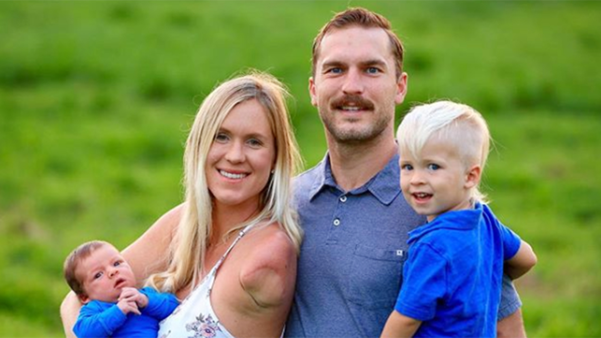 Surfer Bethany Hamilton and her family.