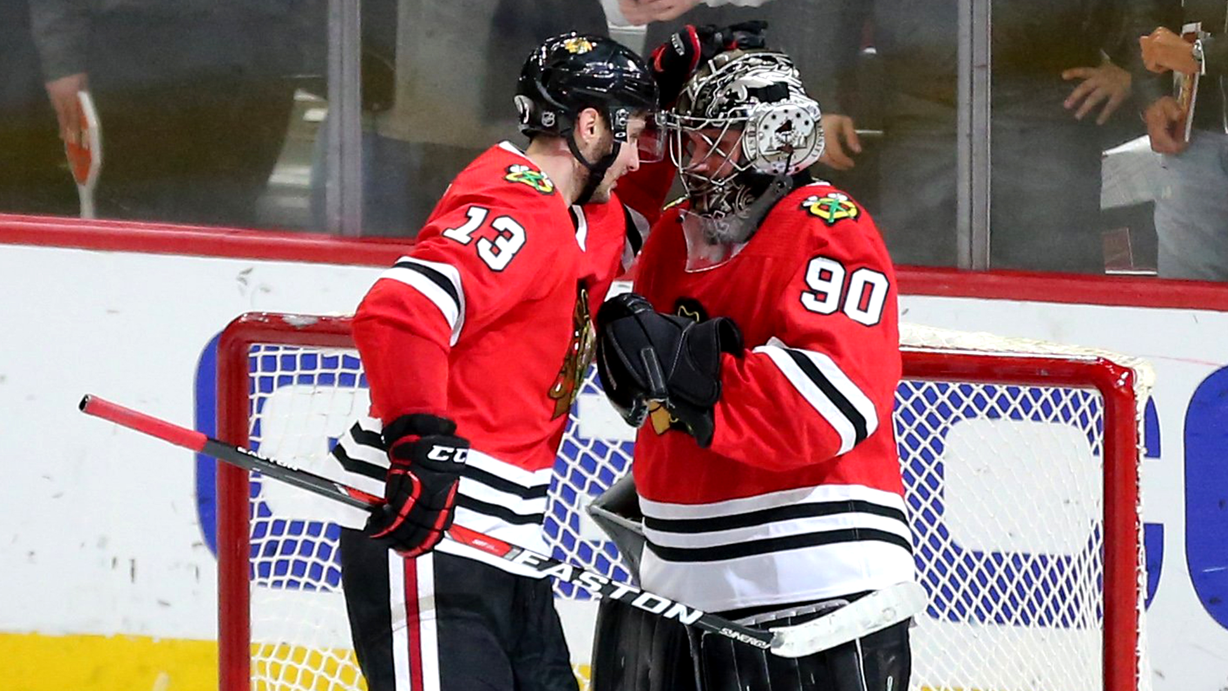 Chicago accountant becomes Blackhawks goalie for one night — and gets a win e52606f2ccad