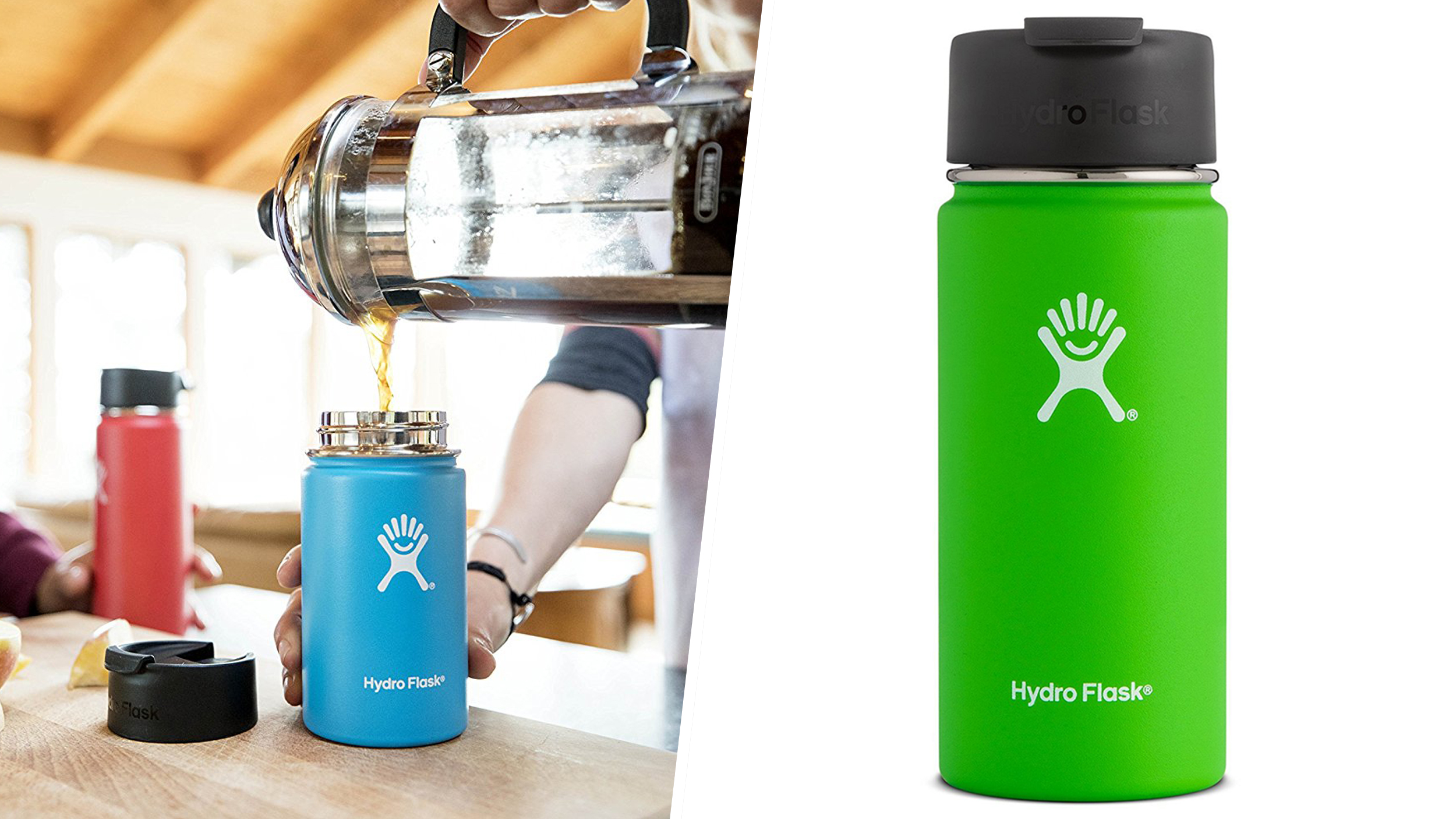Hydroflask insulated thermos travel mug review