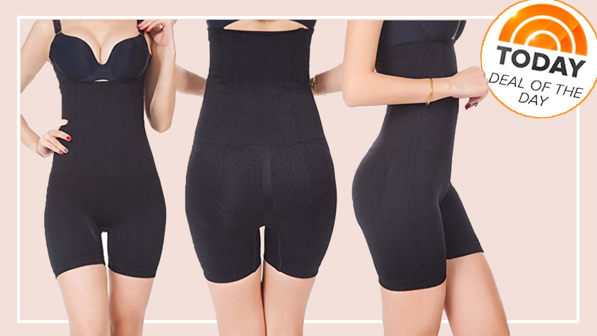 04a2bb2d4 Deal of the Day  60 percent off high-waisted shapewear shorts from Robert  Matthew