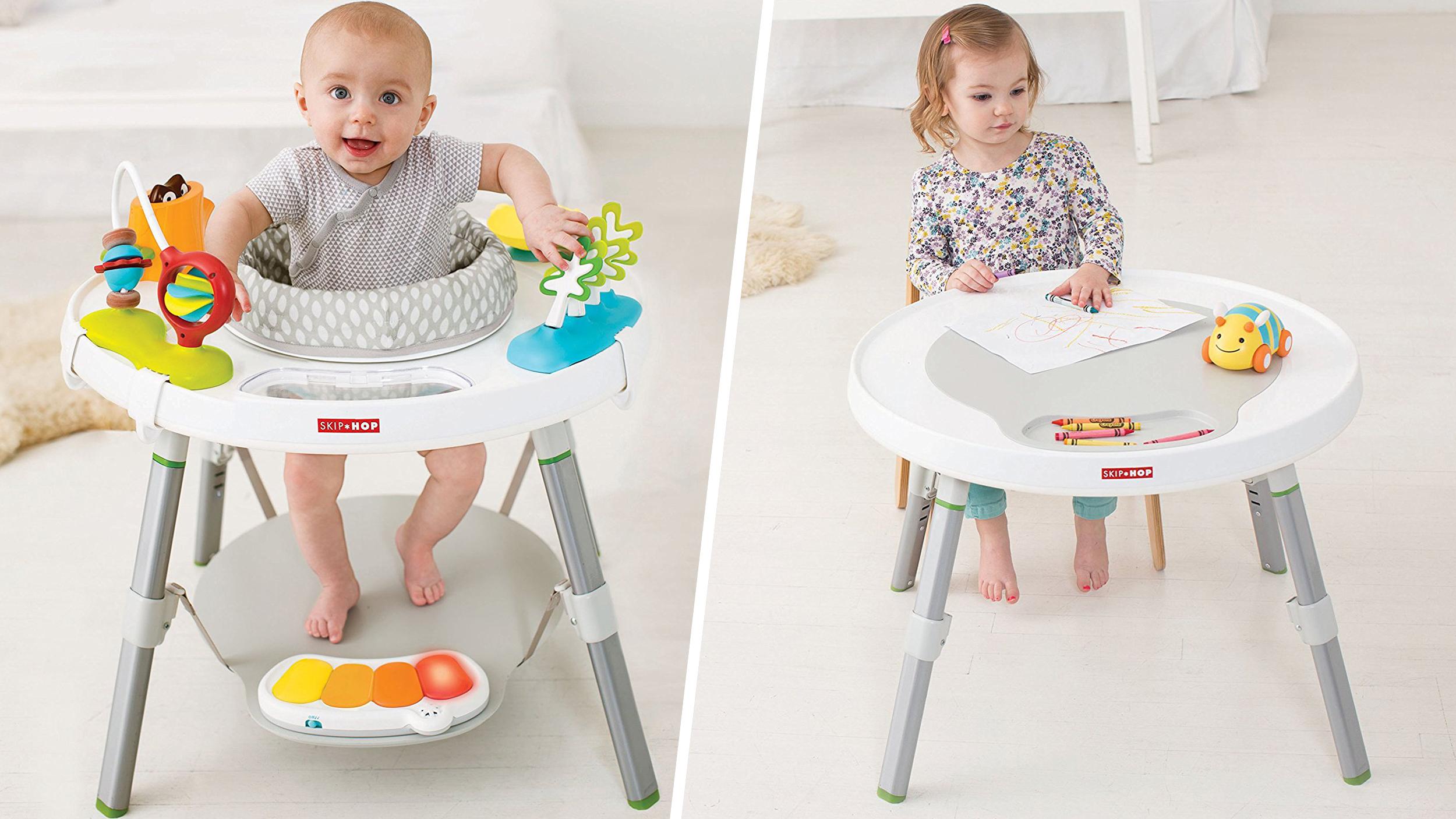 24d1d51d7e02 Skip Hop Explore and More Baby Activity Center Review