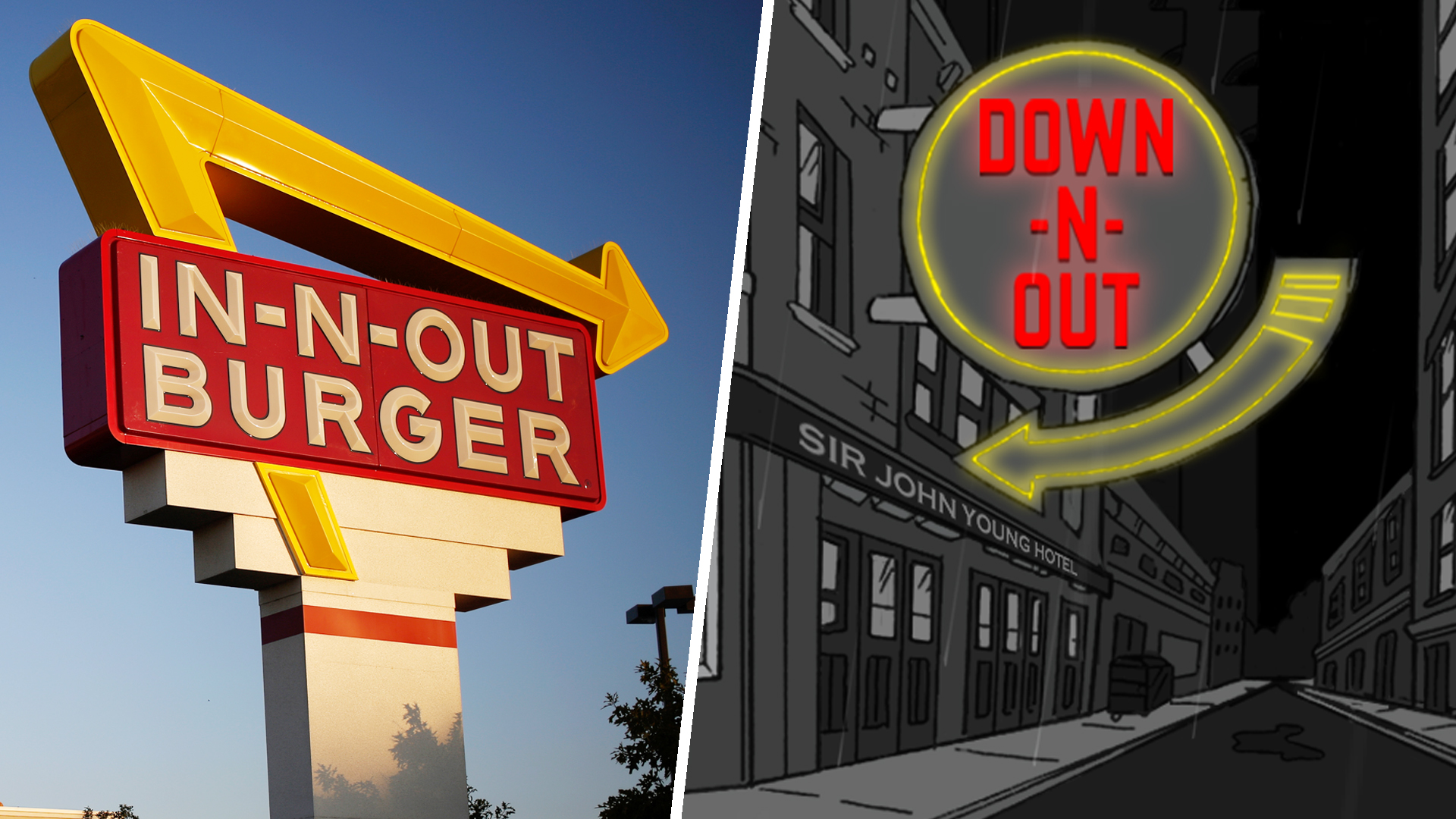 In-N-Out sues Australian burger joint Down N' Out - TODAY.com