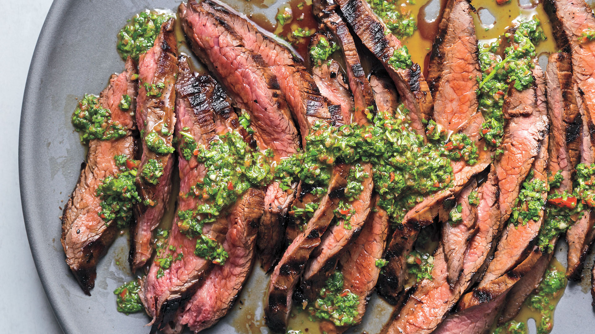 Natalie Morales makes grilling easy with chimichurri soy steak
