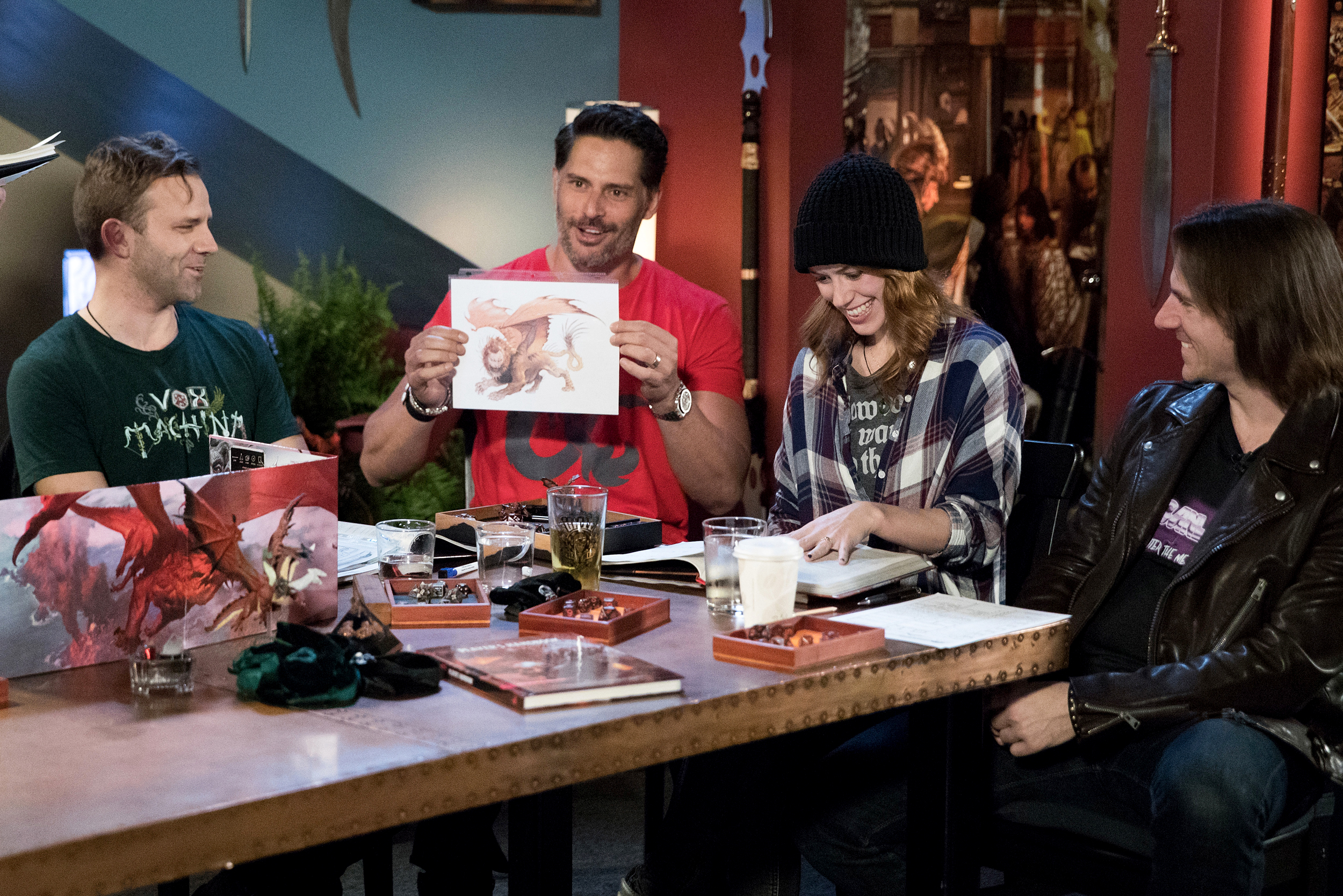 Joe Manganiello Dungeons Dragons Isnt A Weird Game For Nerds