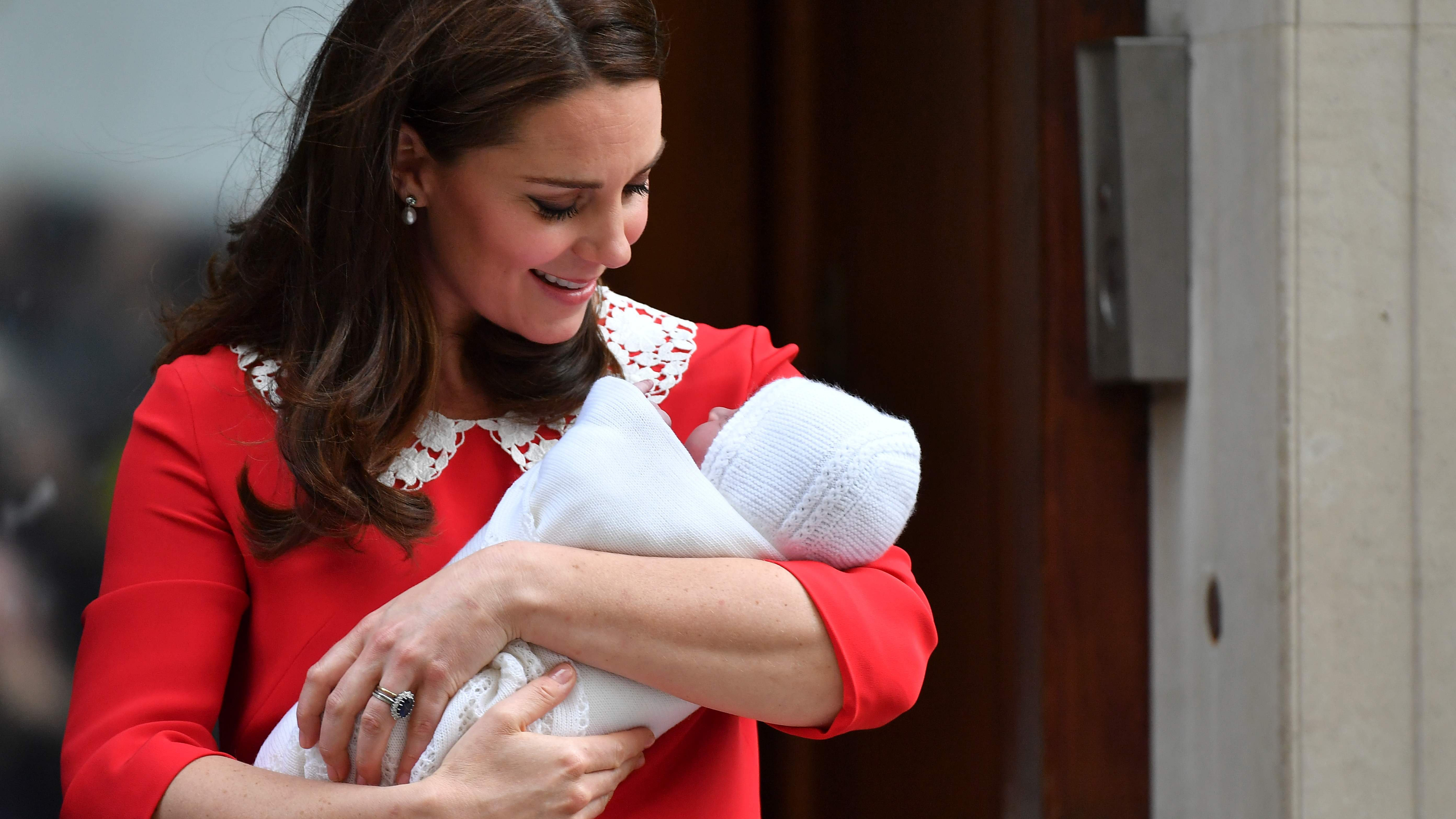 Louis Arthur Charles Is Name Of Former Kate Middleton