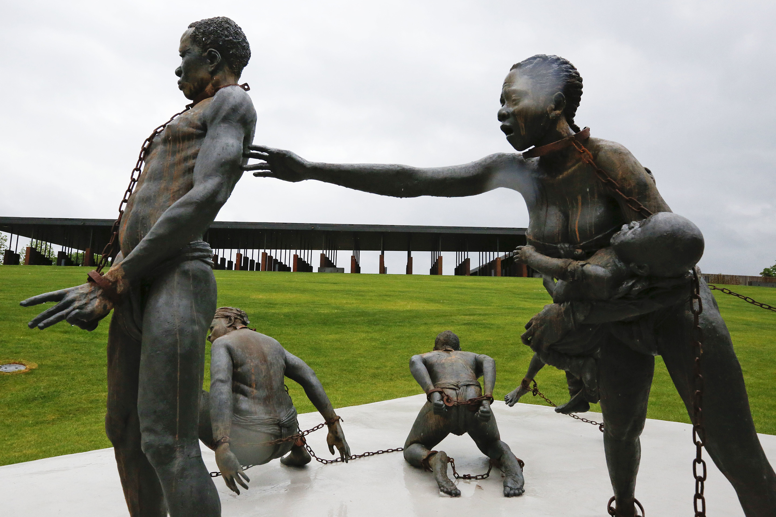 Image result for Equal Justice Initiative's new Legacy Museum and memorial in Montgomery, Alabama