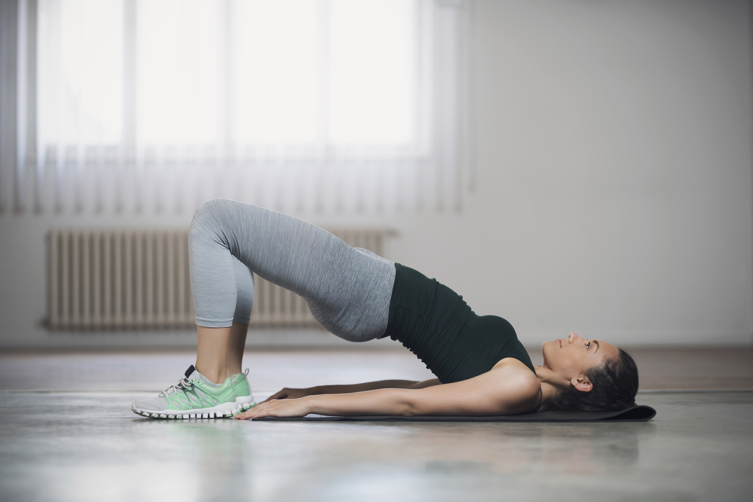 pictures Core Exercises: Four-Point Balance