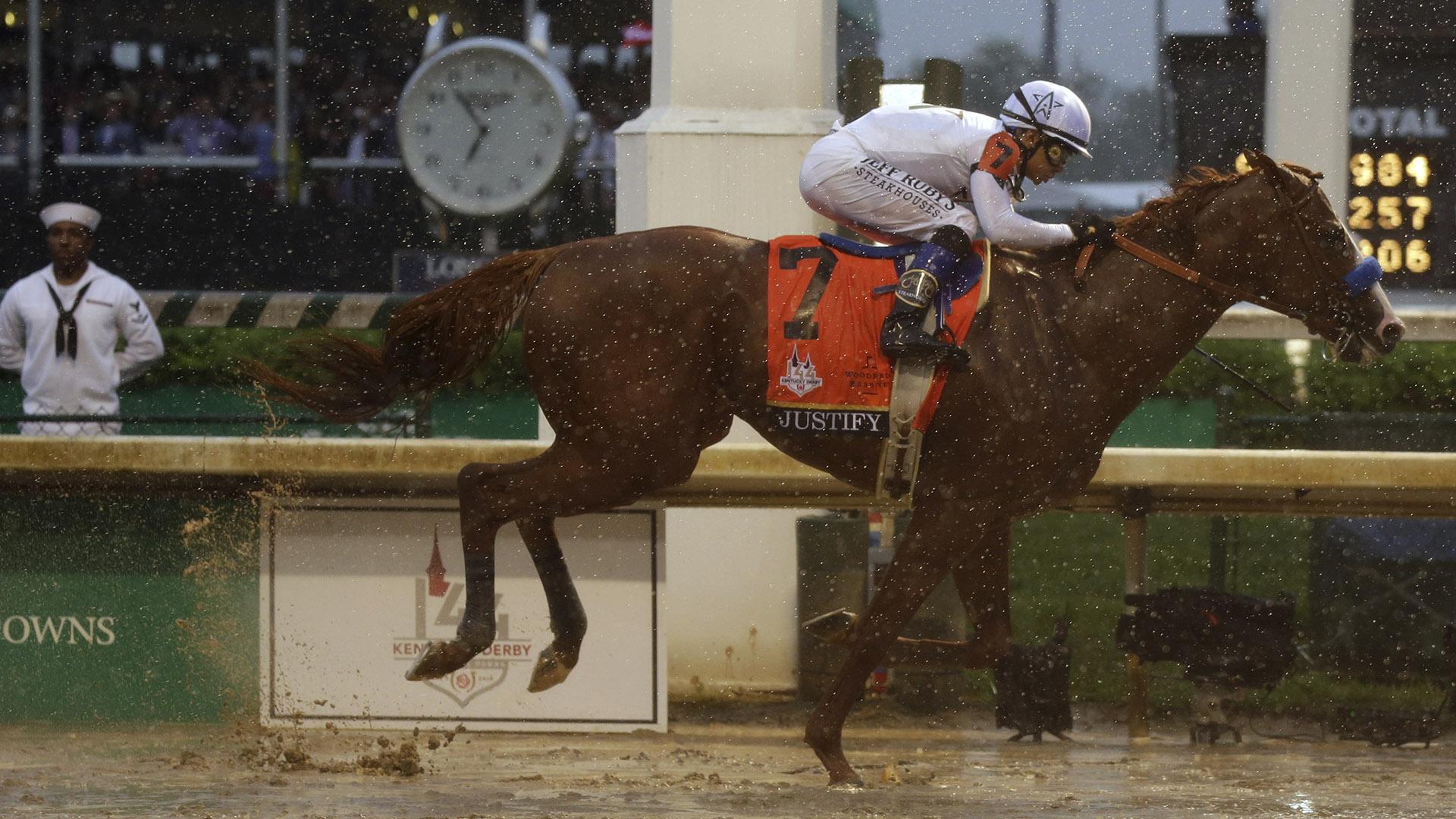 Justify-wins-144th-Kentucky-Derby