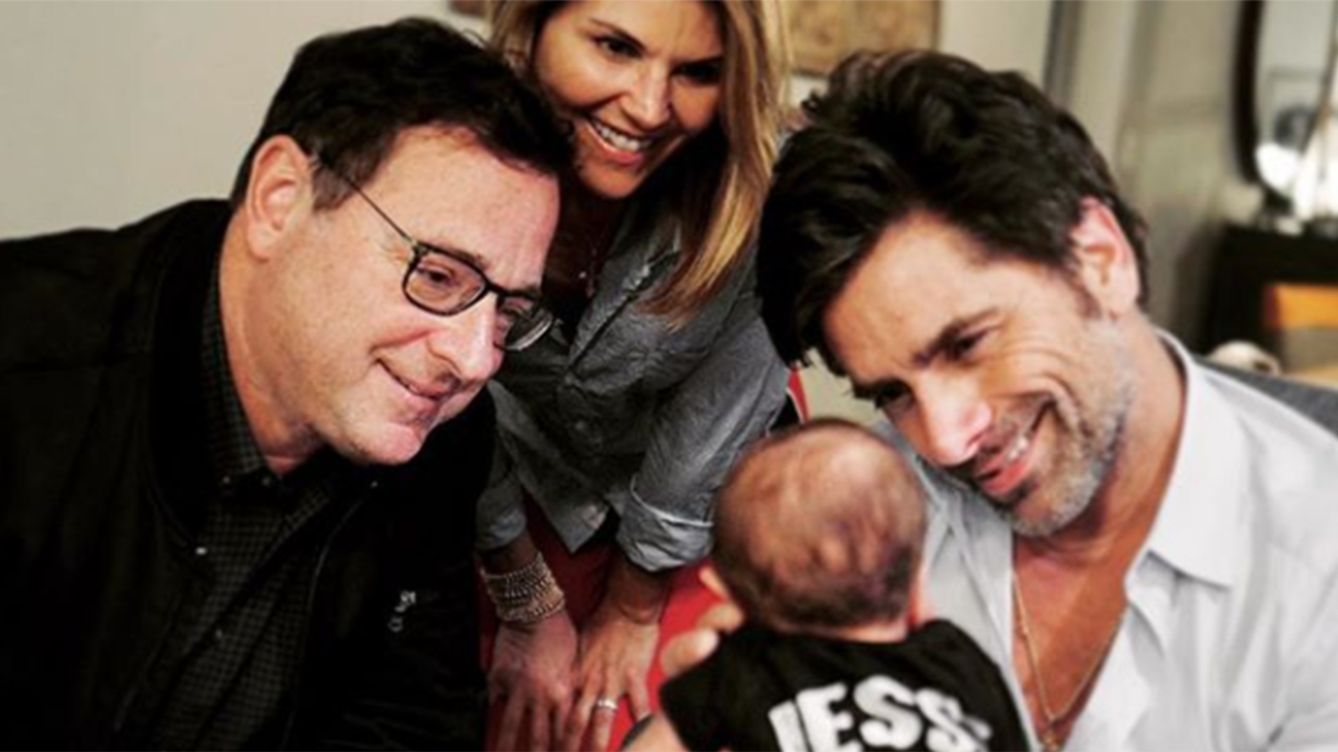 John Stamos Introduces Newborn Son To His Full House
