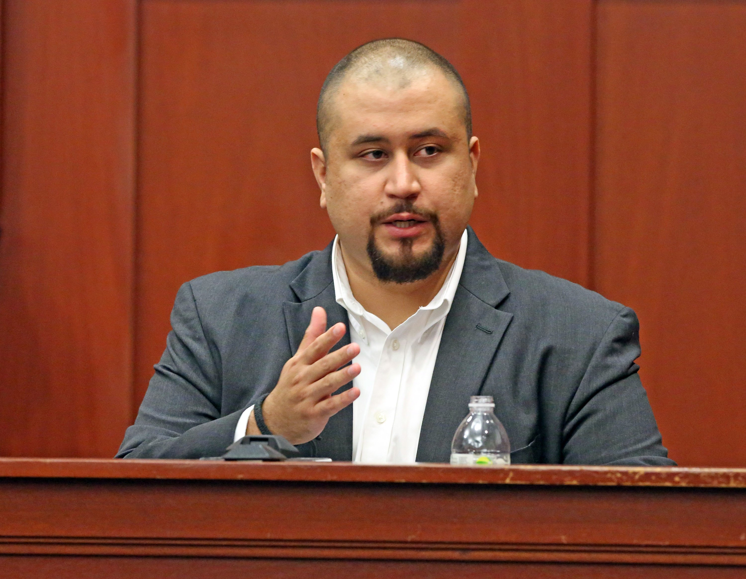 Zimmerman was allegedly enraged about the rapper's Trayvon Martin documentary....