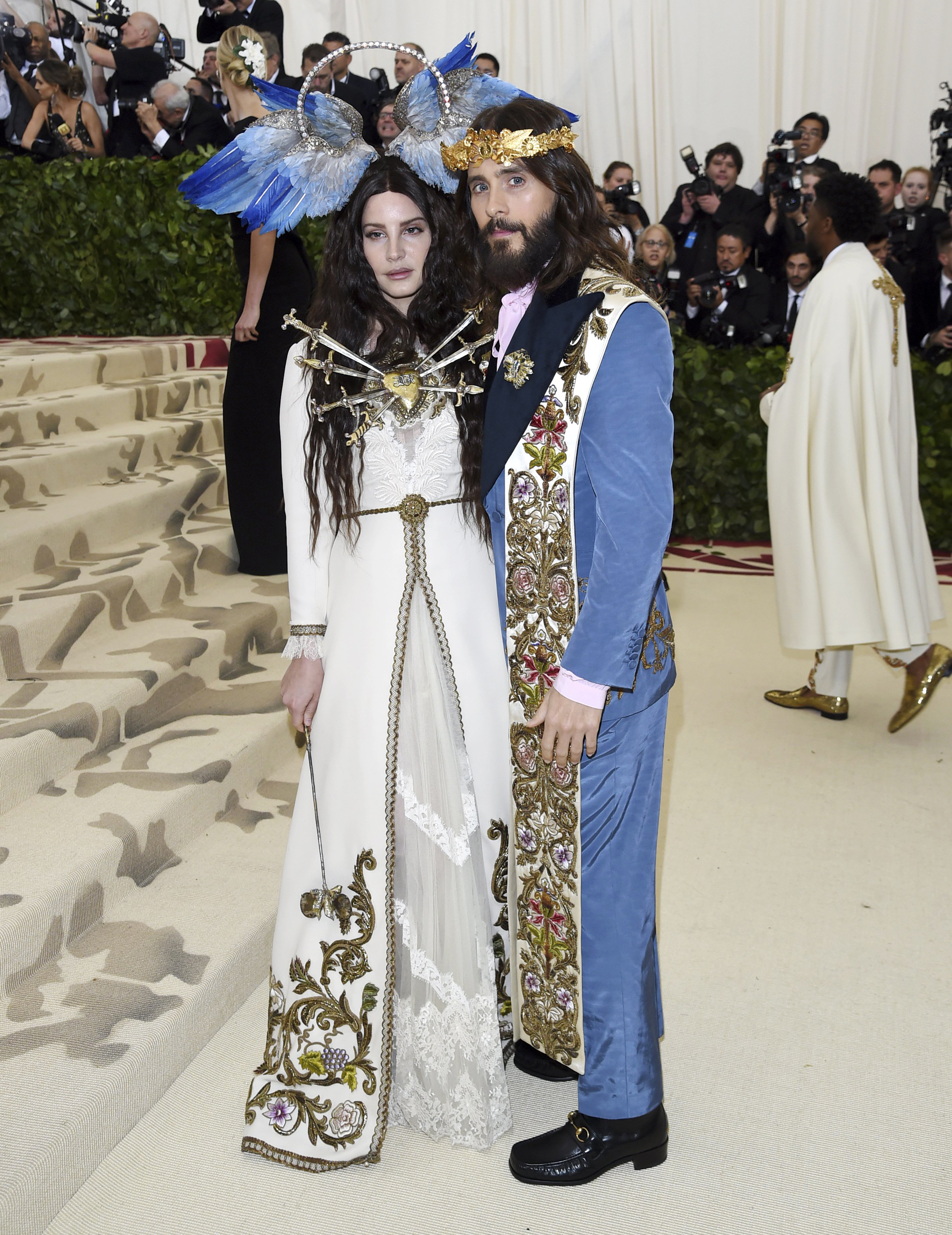 f3437be8b8a Met Gala 2018  See the best heavenly looks on the Catholic-themed red carpet