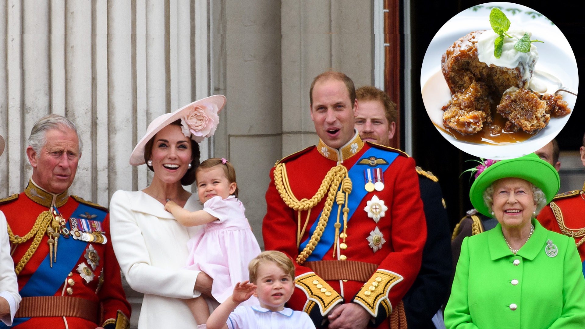 What the royals eat at home