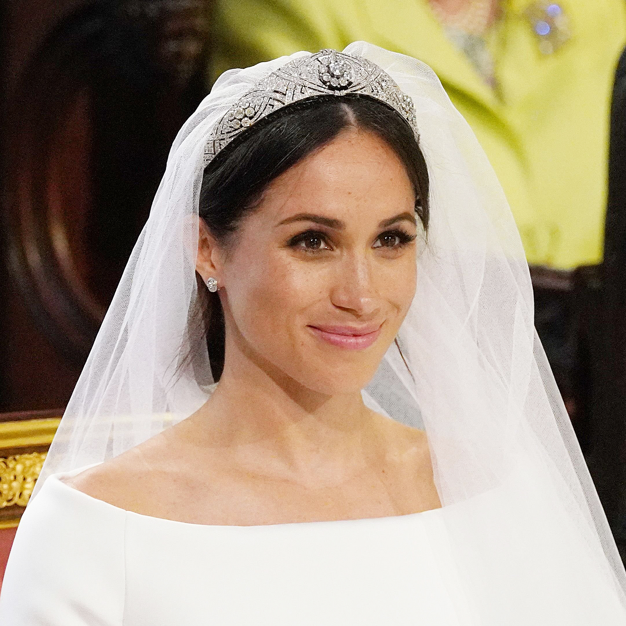 meghan markle stuns in 2nd wedding dress of the day meghan markle stuns in 2nd wedding dress of the day