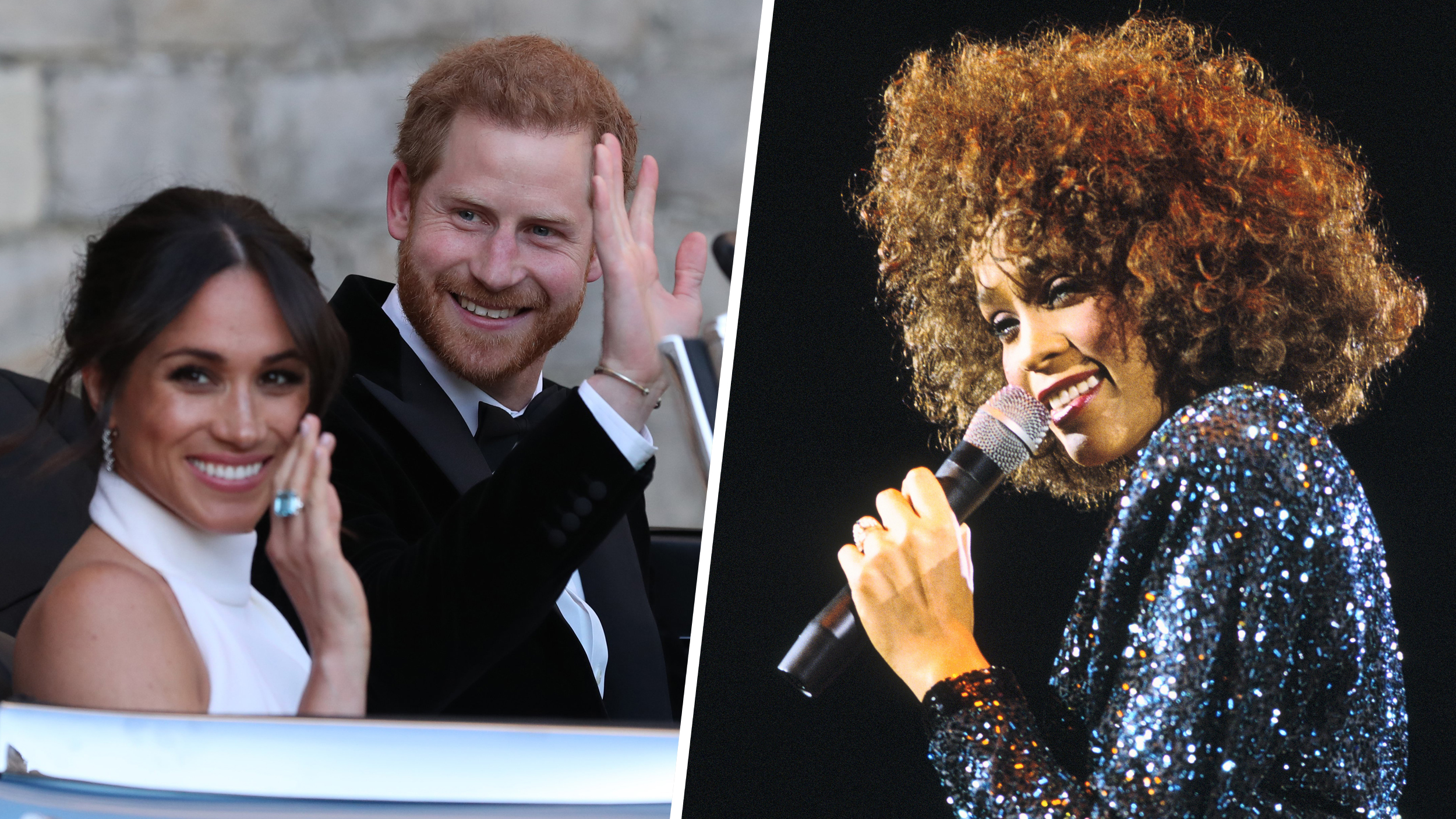 Prince Harry and Duchess Meghan's first dance song is a Whitney Houston classic