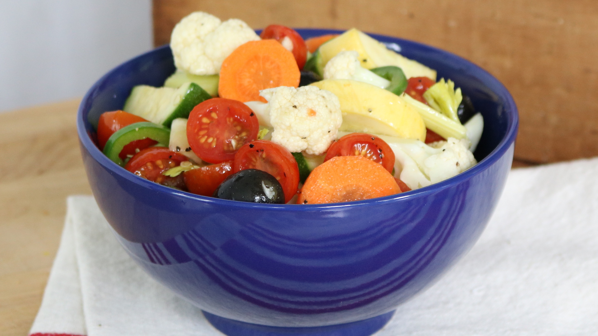 Marinated Picnic Vegetables Today Com