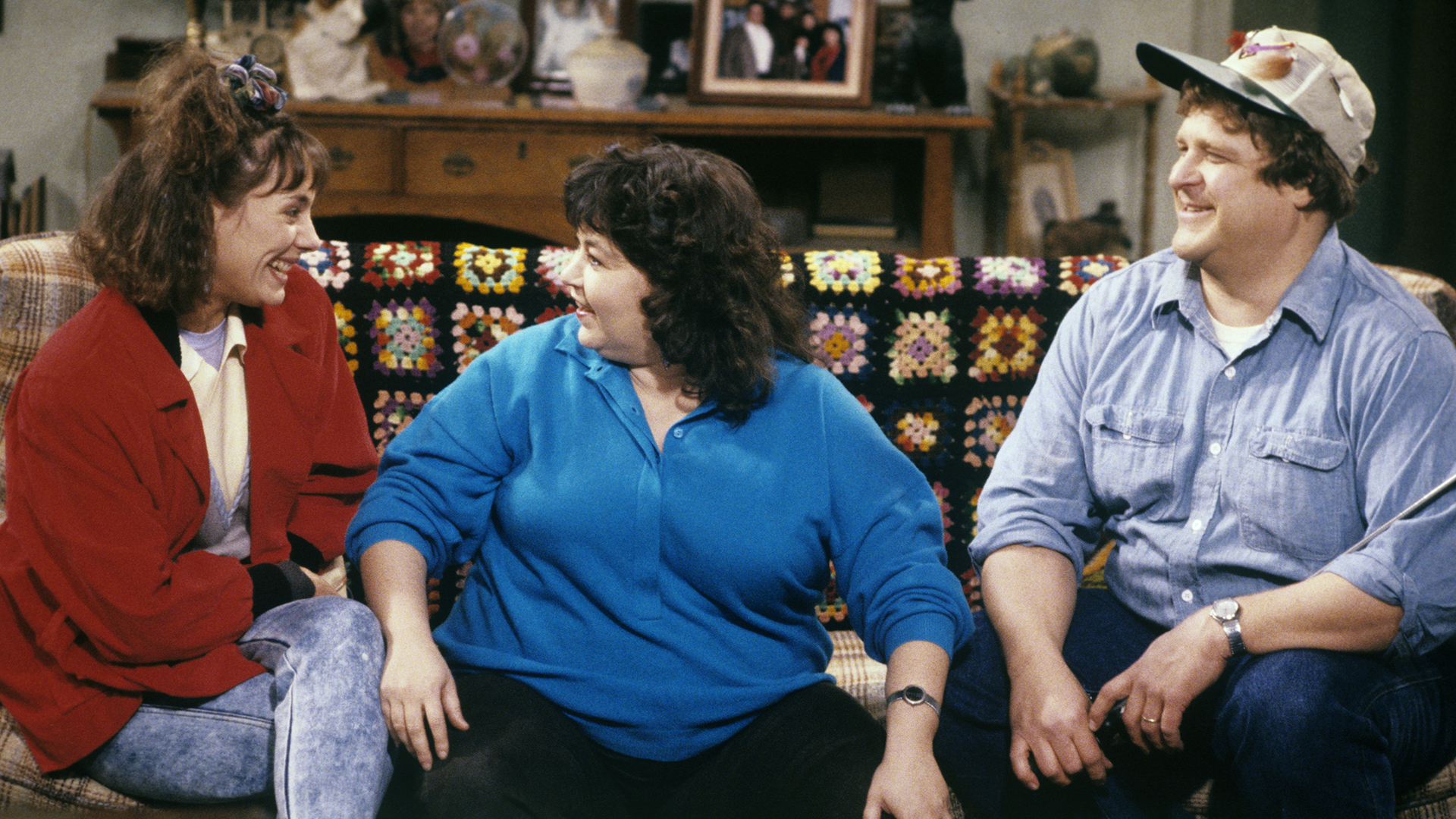 Roseanne Barr 'so sick' over John Goodman and Laurie Metcalf