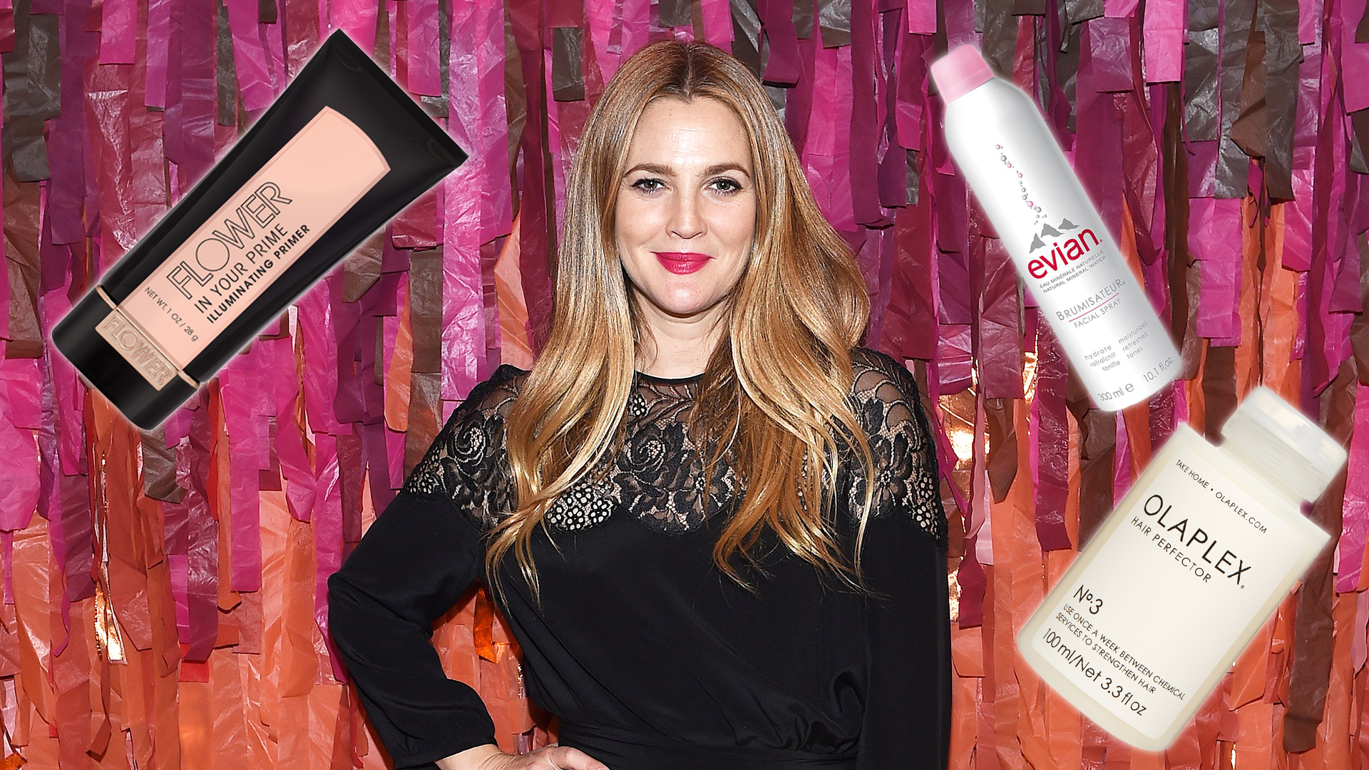 Drew Barrymore Reveals Her Favorite Drugstore Beauty Products