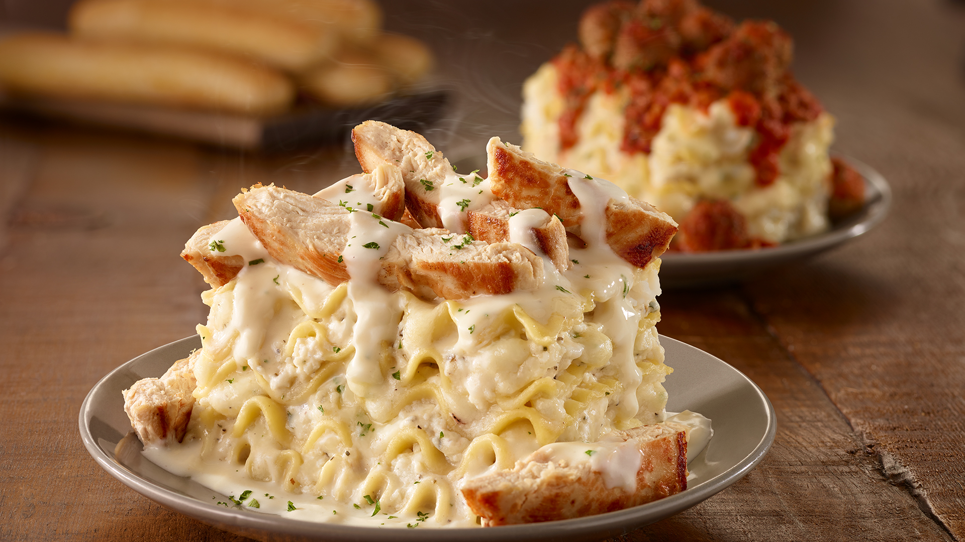Olive Garden make your own lasagna with 24 variations