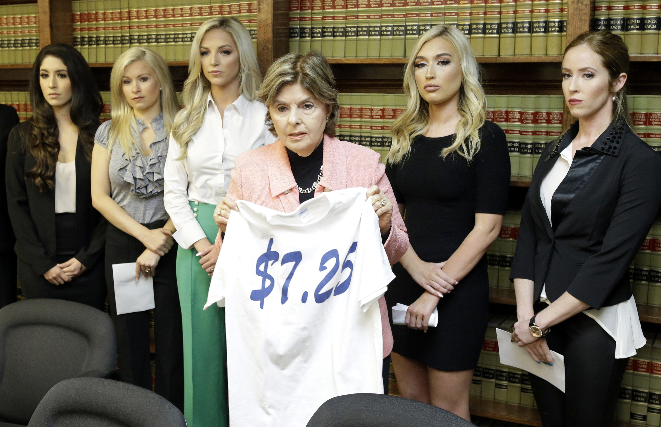 230e260e 5 former Houston Texans cheerleaders sue team over low pay, harassment