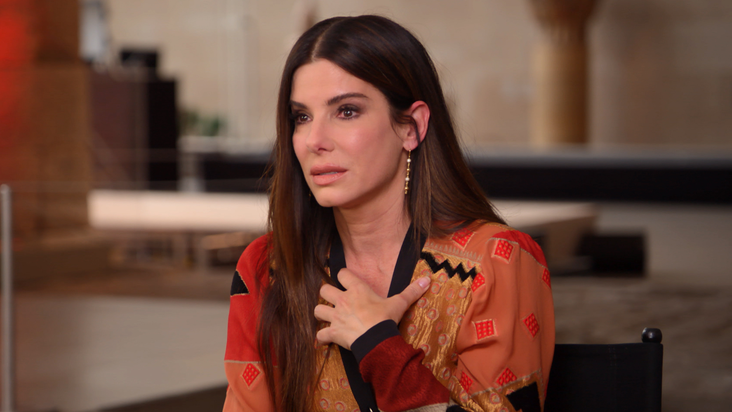Sandra Bullock on her kids and growing her family through