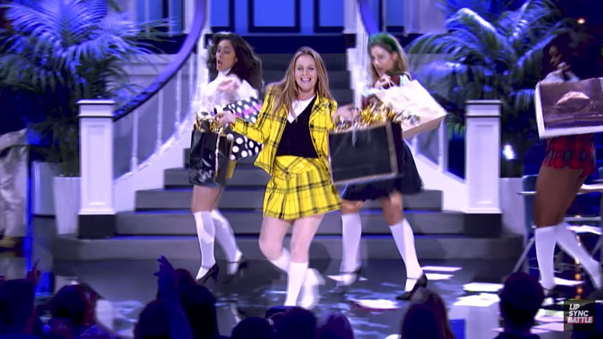 Alicia Silverstone performs as 'Clueless' character on 'Lip