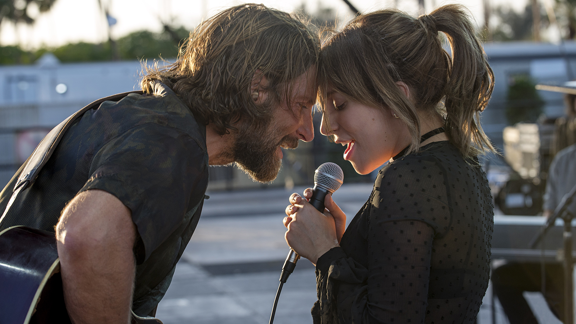 Get a 1st look at Lady Gaga and Bradley Cooper in 'A Star Is Born' trailer