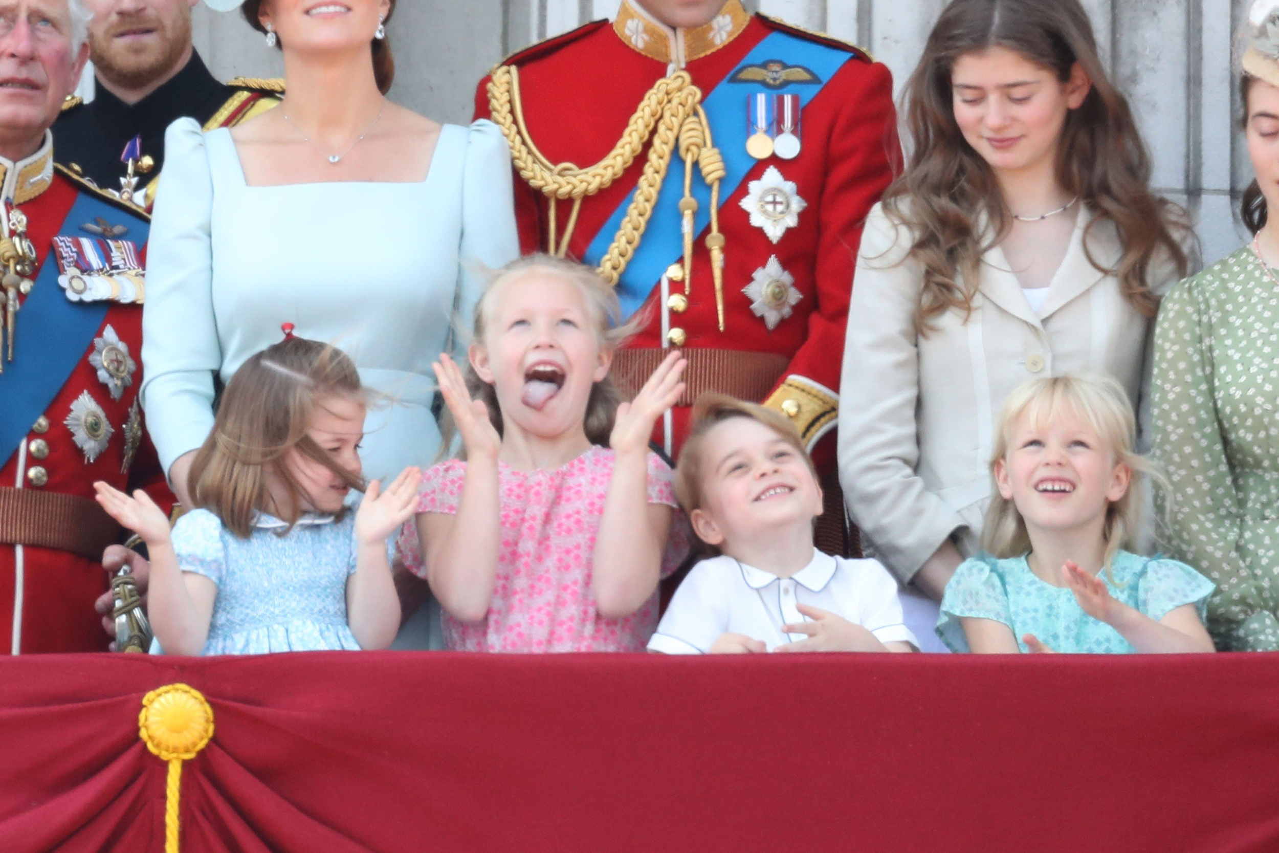 Prince George, Princess Charlotte have fun at Trooping the
