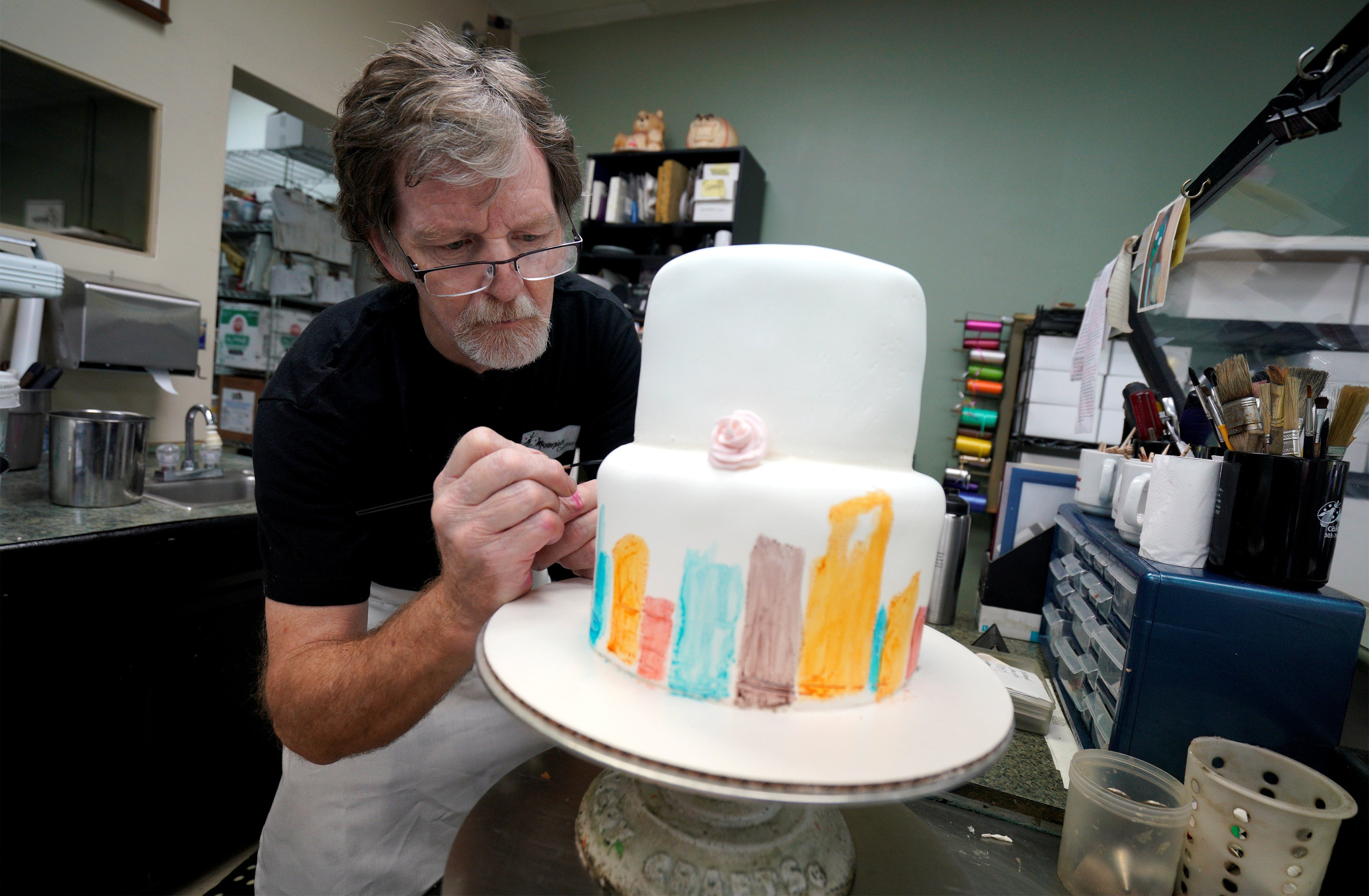 Supreme Court Hears Why Baker Refused To Make A Wedding Cake For Gay