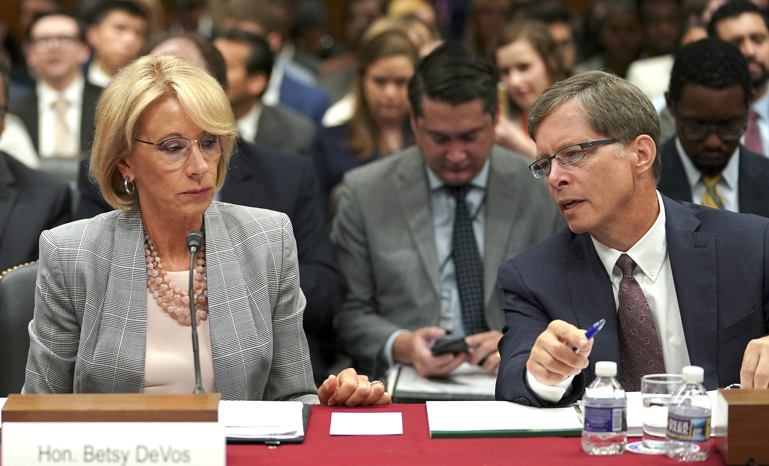 Betsy Devos Wont Be Doing Too Much As >> Betsy Devos Says Safety Committee Formed After School Shootings Won
