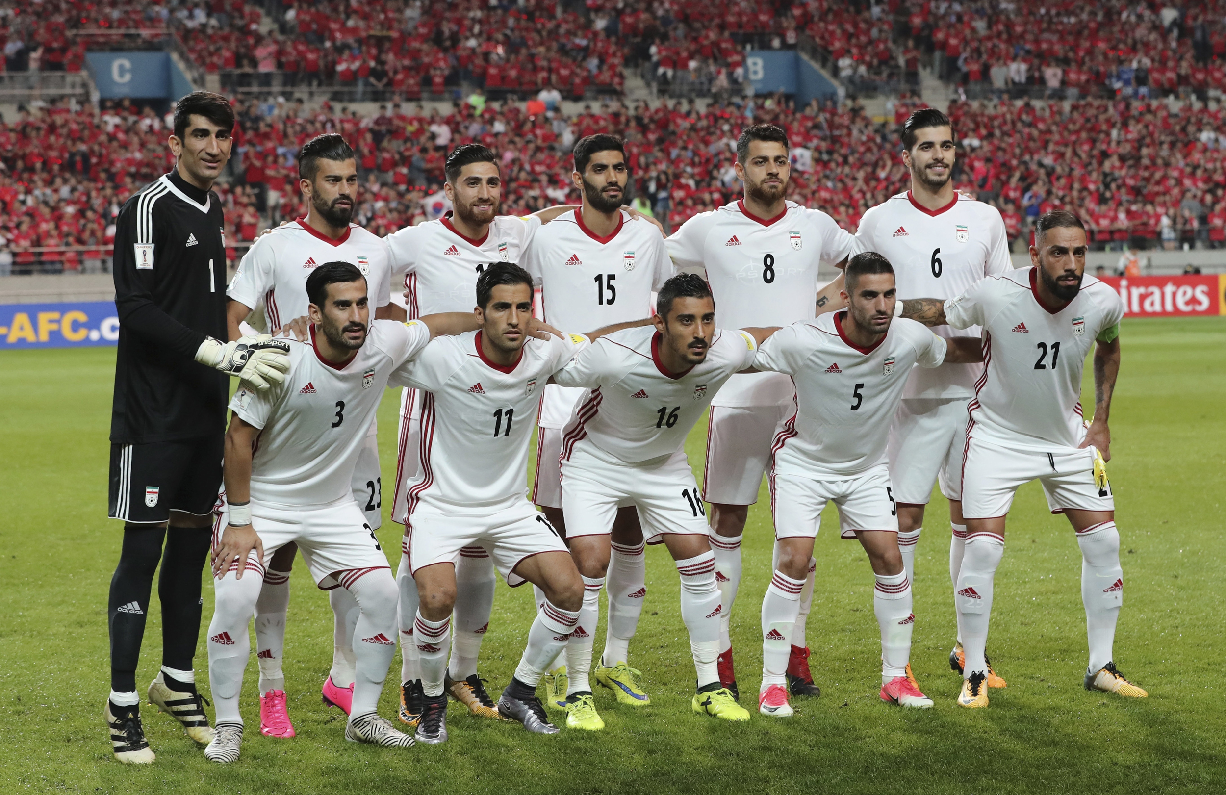 1d81b4f46 Nike cuts ties with Iran's World Cup team, citing U.S. sanctions
