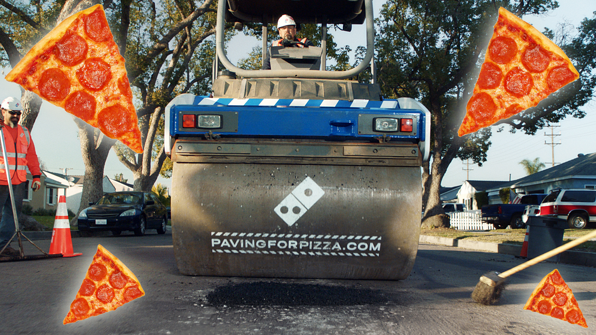 Is your town plagued by potholes? Let Domino's Pizza know! thumbnail