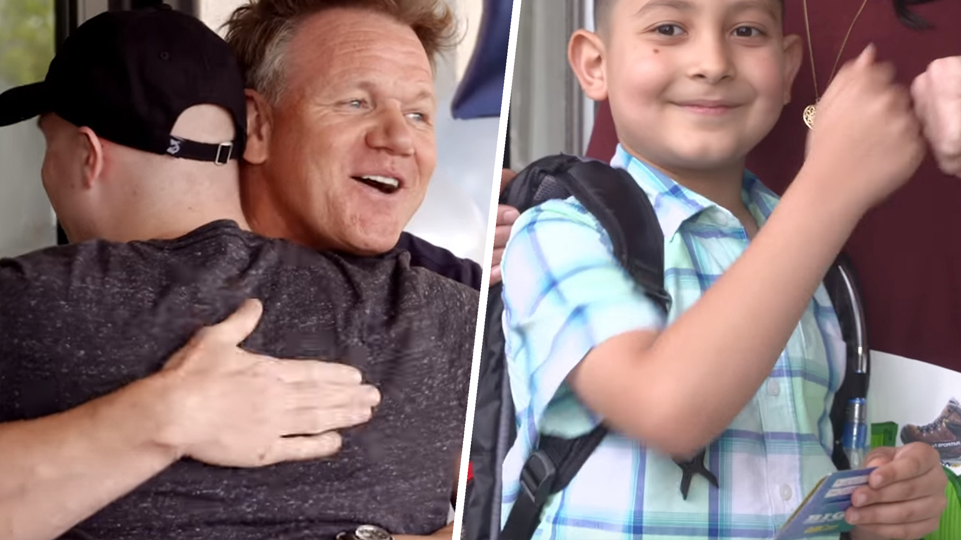 Gordon Ramsay reveals his softer side to make 32 kids' wishes come true