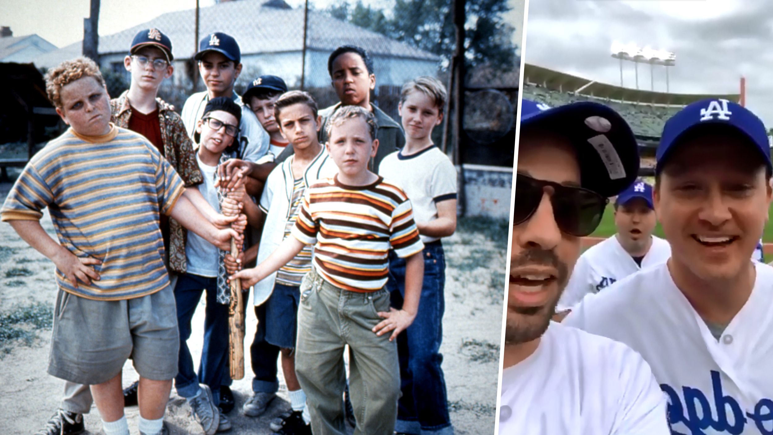 b042e1709 'The Sandlot' cast reunites (and takes to the field) for 25th anniversary!