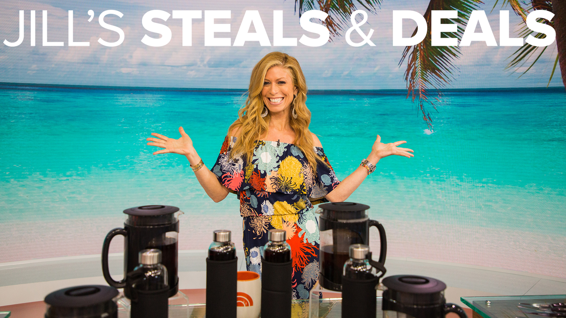 Steals And Deals Beach Towels Cold Brew Maker Spices Candles