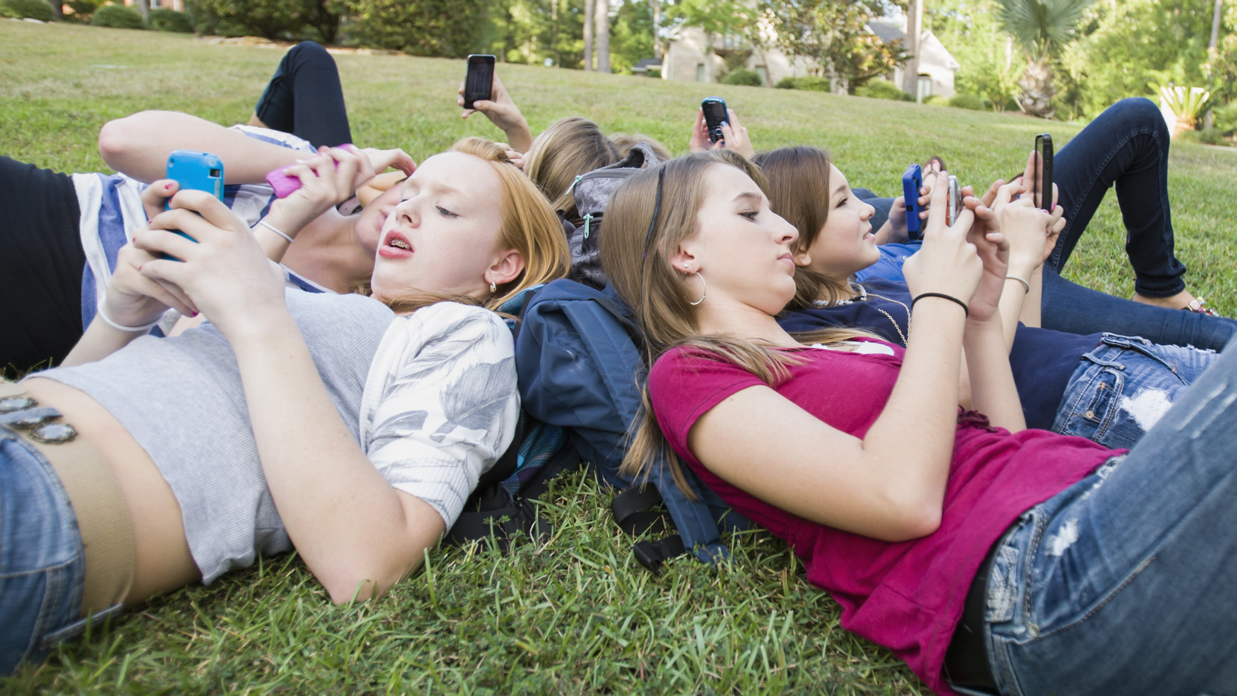 Heavy social media use affects girls' mental health differently than boys