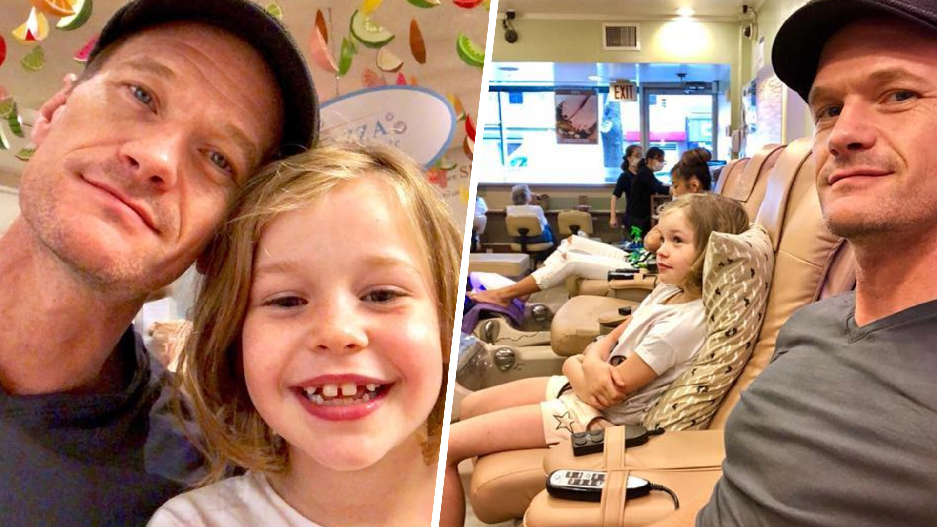 Daddy-daughter day! Neil Patrick Harris and 7-year-old Harper hit the town