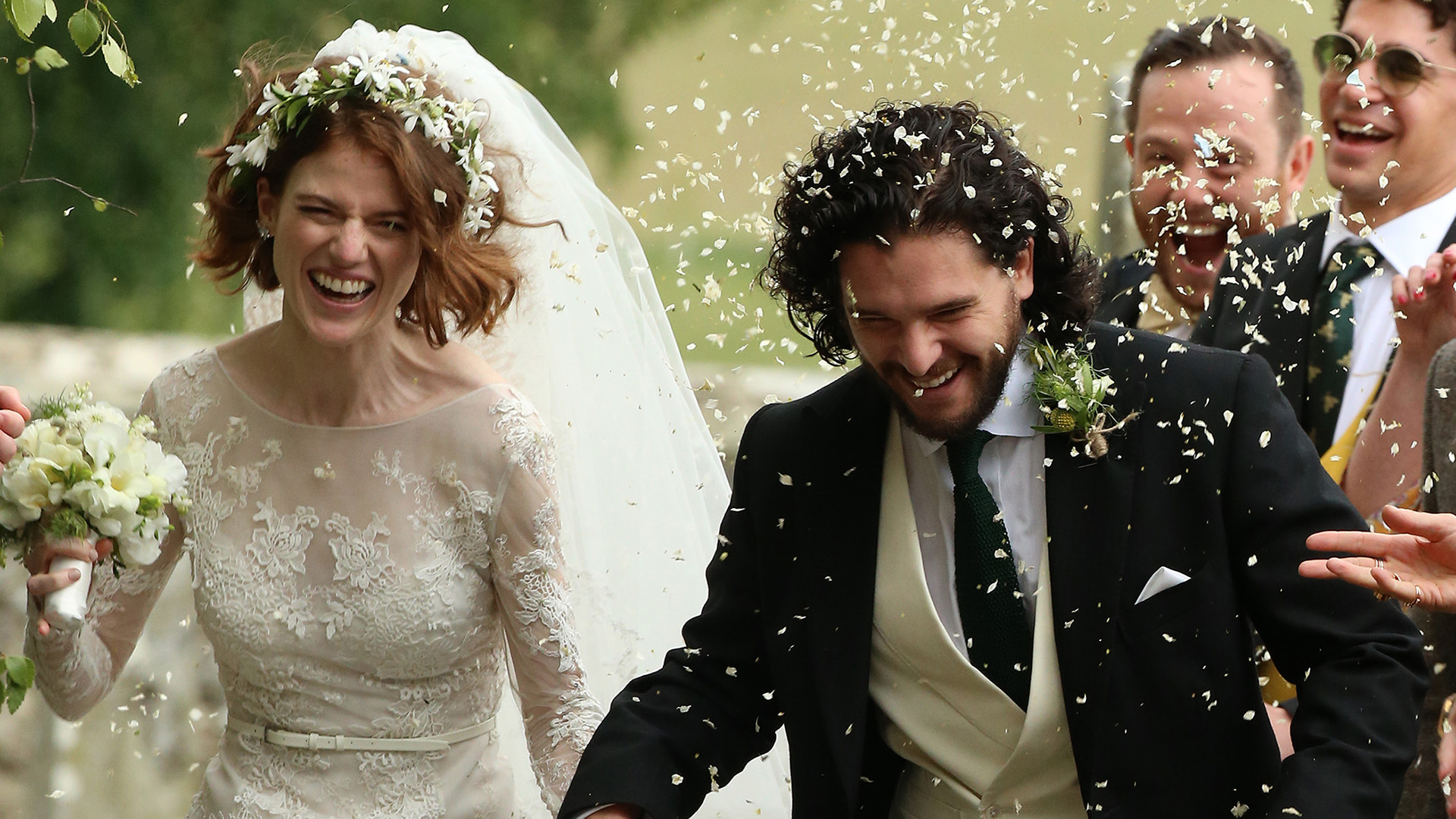 Game Of Thrones Stars Kit Harington And Rose Leslie Tie The Knot In