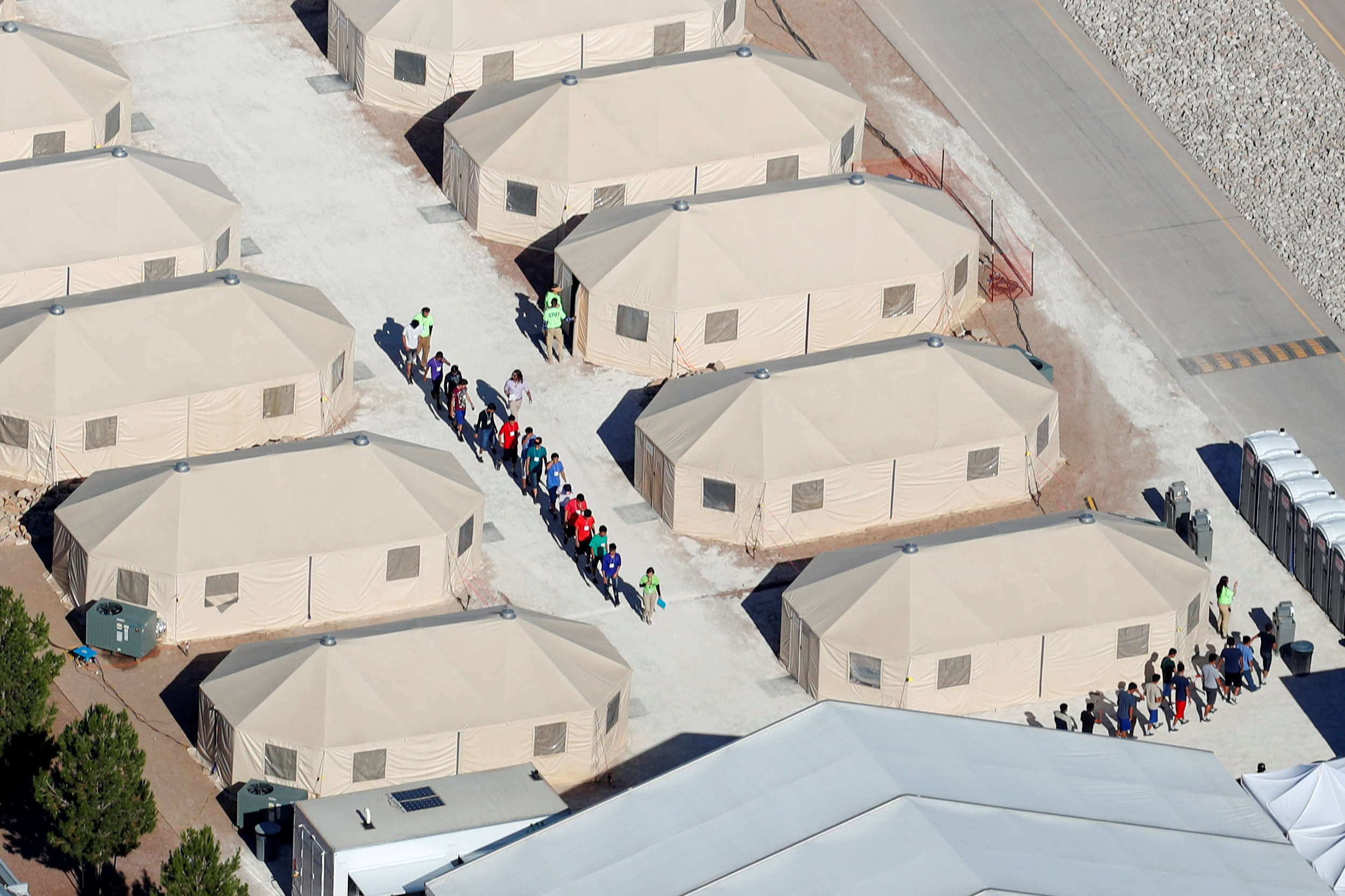 Tent cities cost Trump admin more than keeping migrant kids with parents