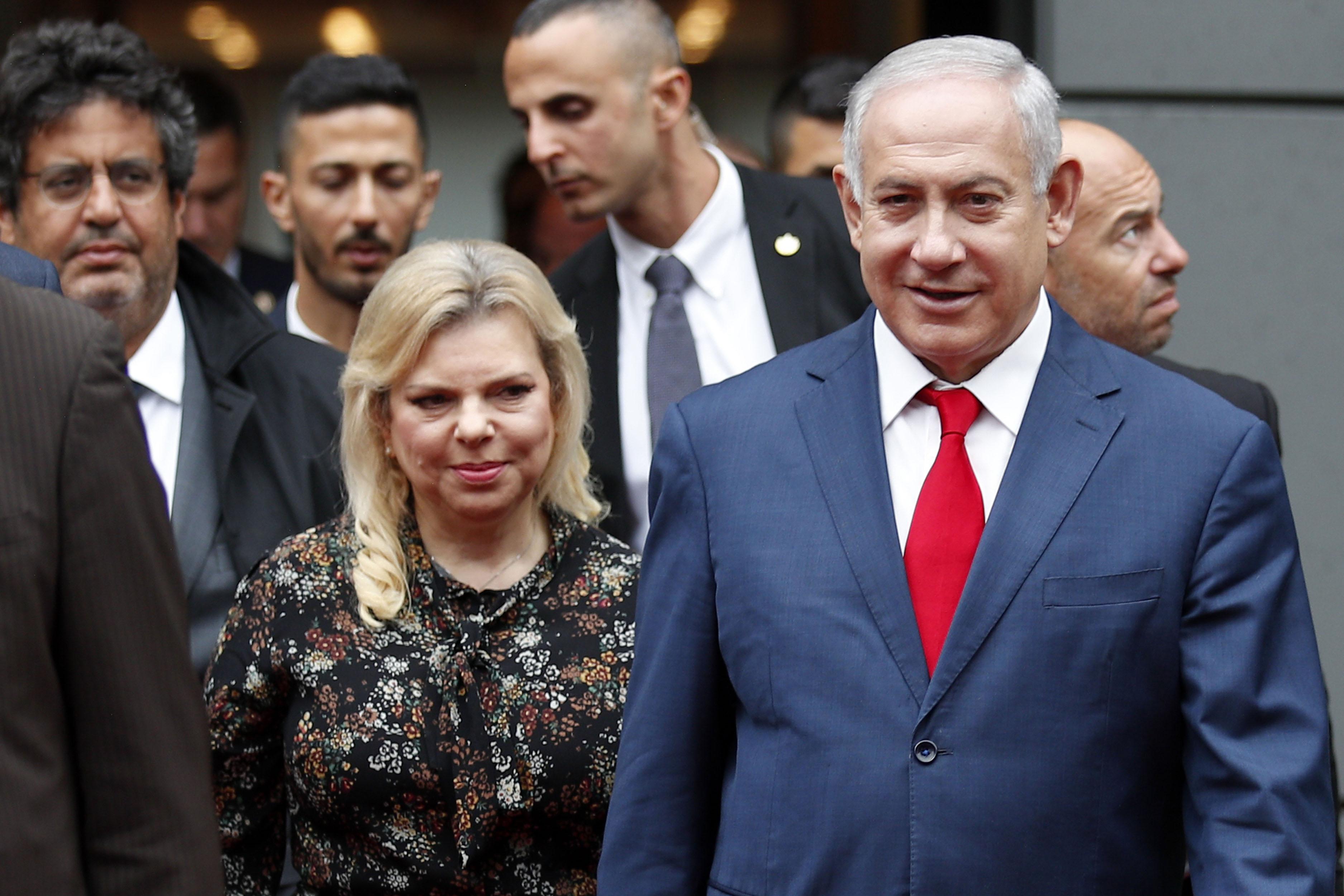 Image result for Sara Netanyahu