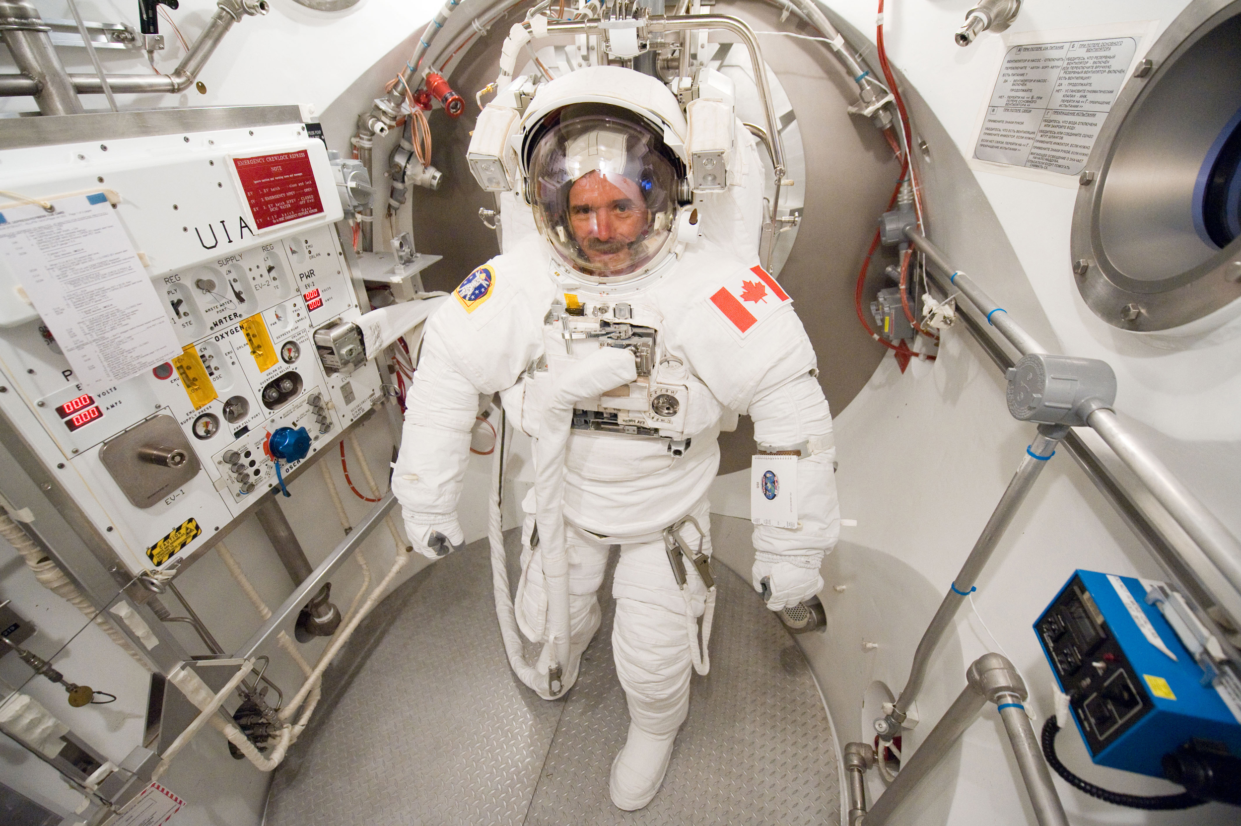 Image result for chris hadfield astronaut
