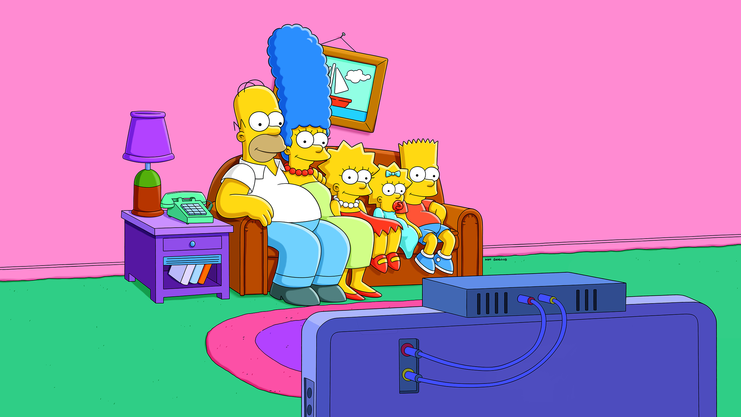 See \'The Simpsons\' living room decked out in 6 modern styles